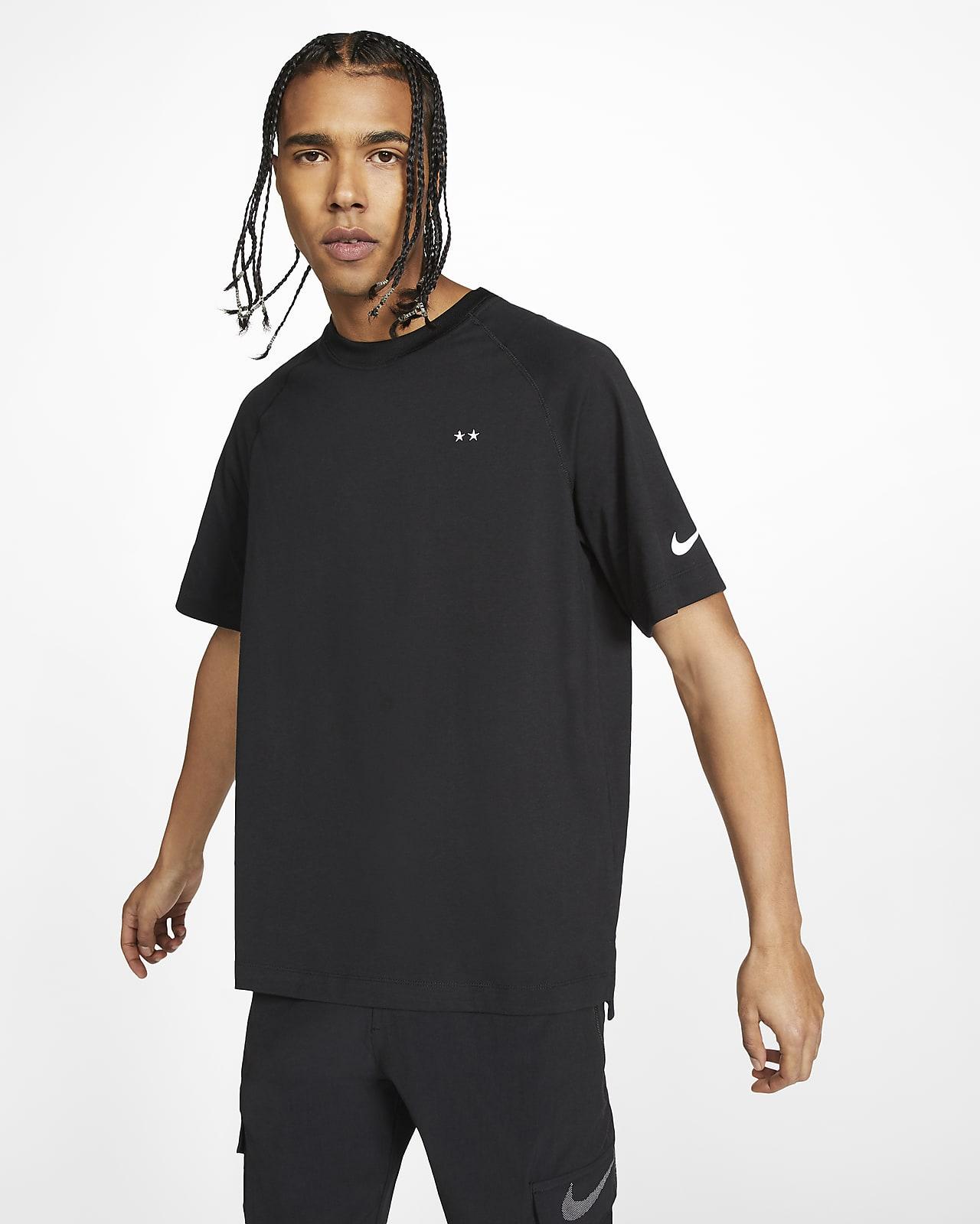 Kortärmad stickad tröja FFF för män