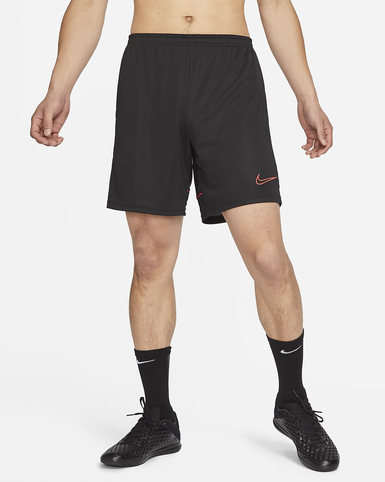 กางเกงฟุตบอลขาสั้นแบบถักผู้ชาย Nike Dri-FIT Academy