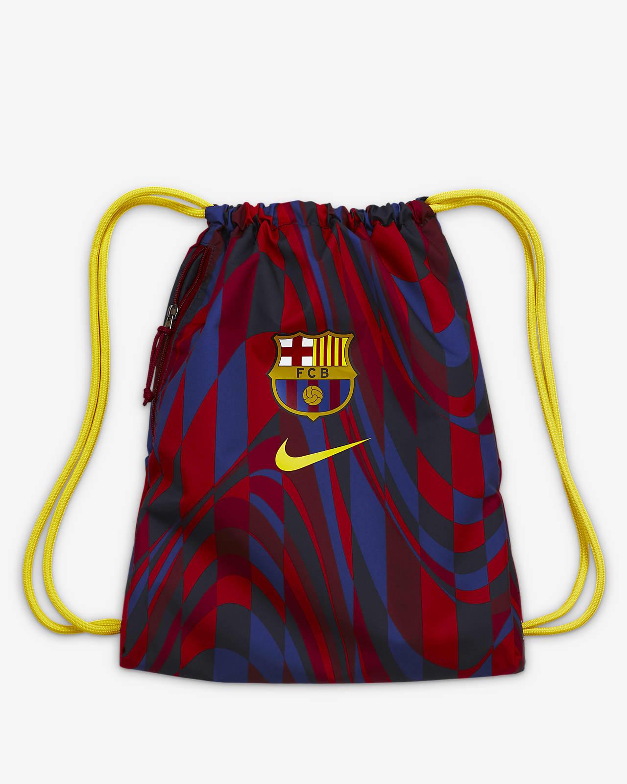 Sacca per la palestra ispirata al calcio FC Barcelona Stadium