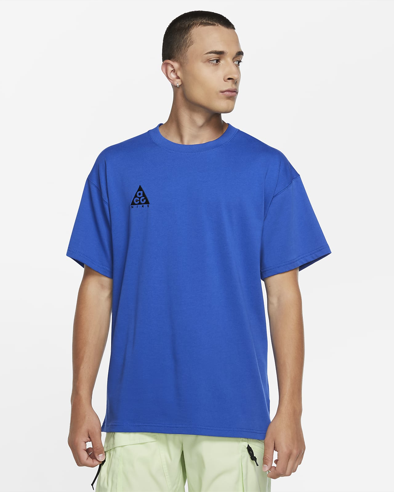 เสื้อยืดผู้ชายแบบมีโลโก้ Nike ACG