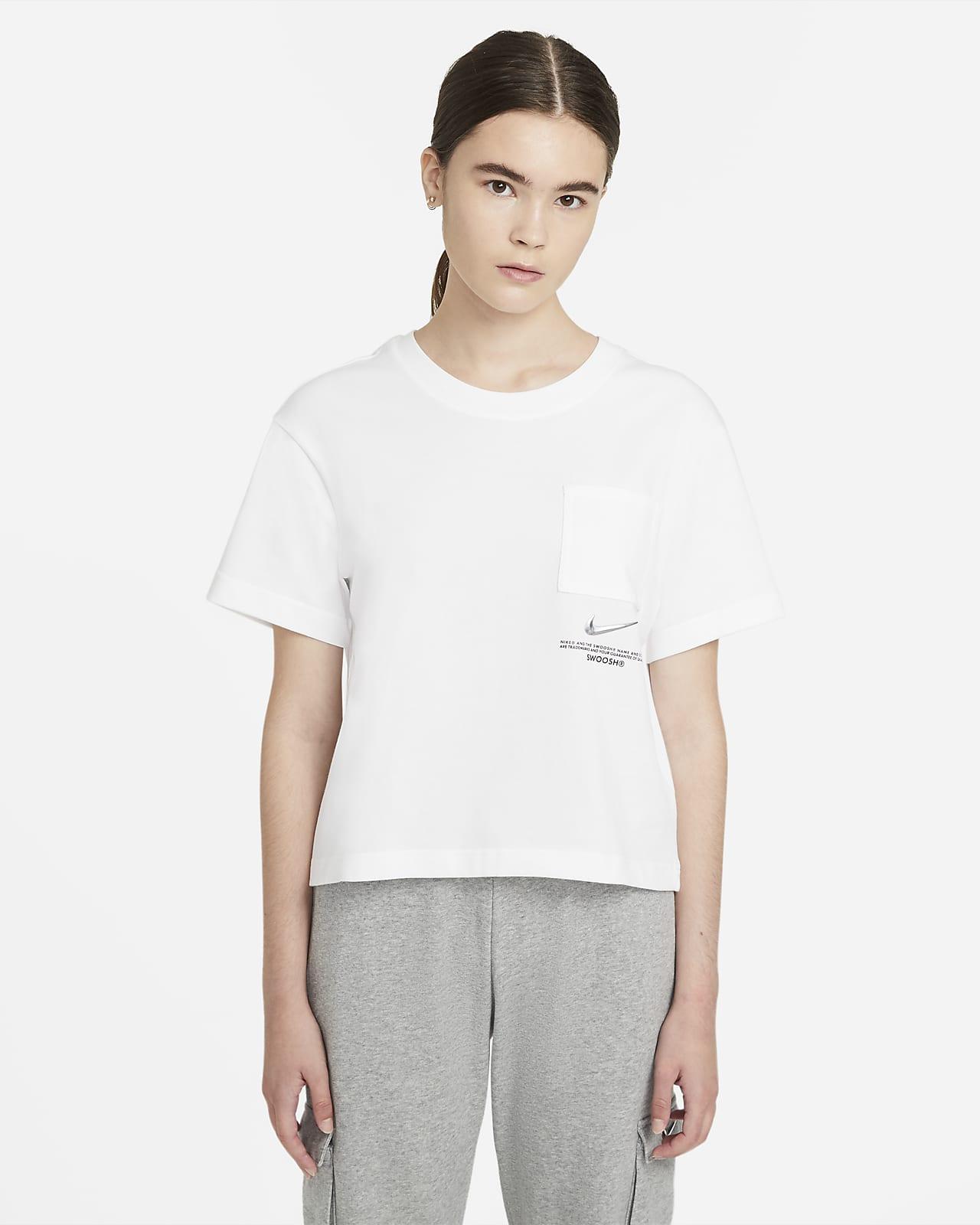 Nike Sportswear Swoosh Kurzarm-Oberteil für Damen
