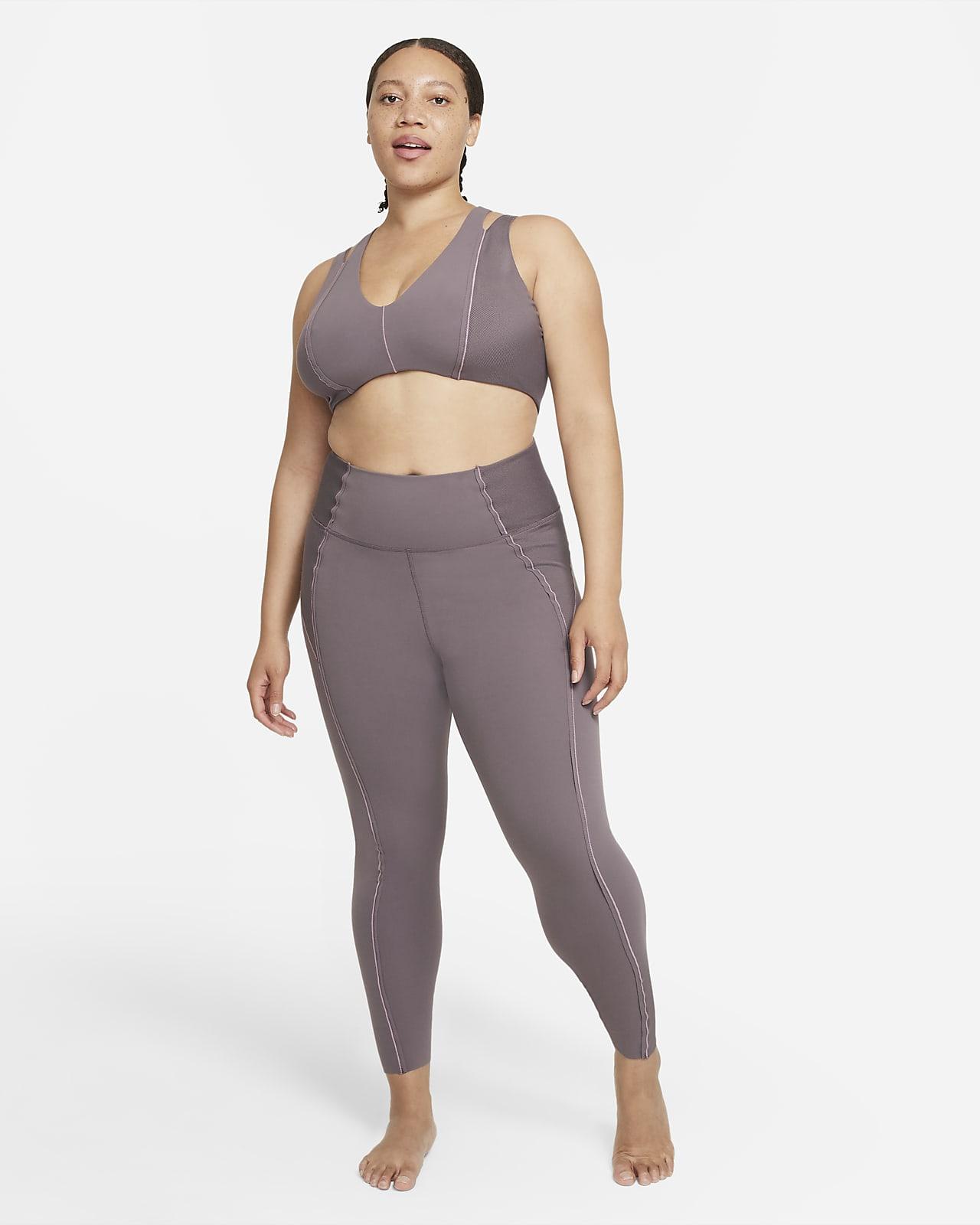 Enterizo de tela Infinalon para mujer Nike Yoga Luxe