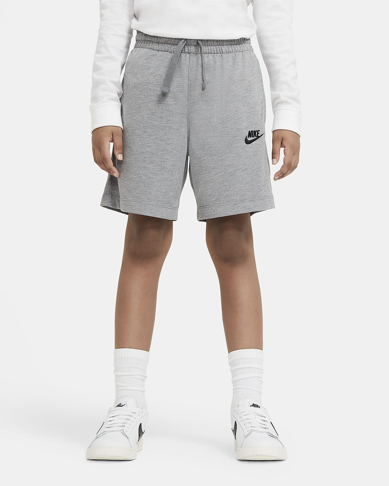 Shorts de punto para niño talla grande Nike Sportswear