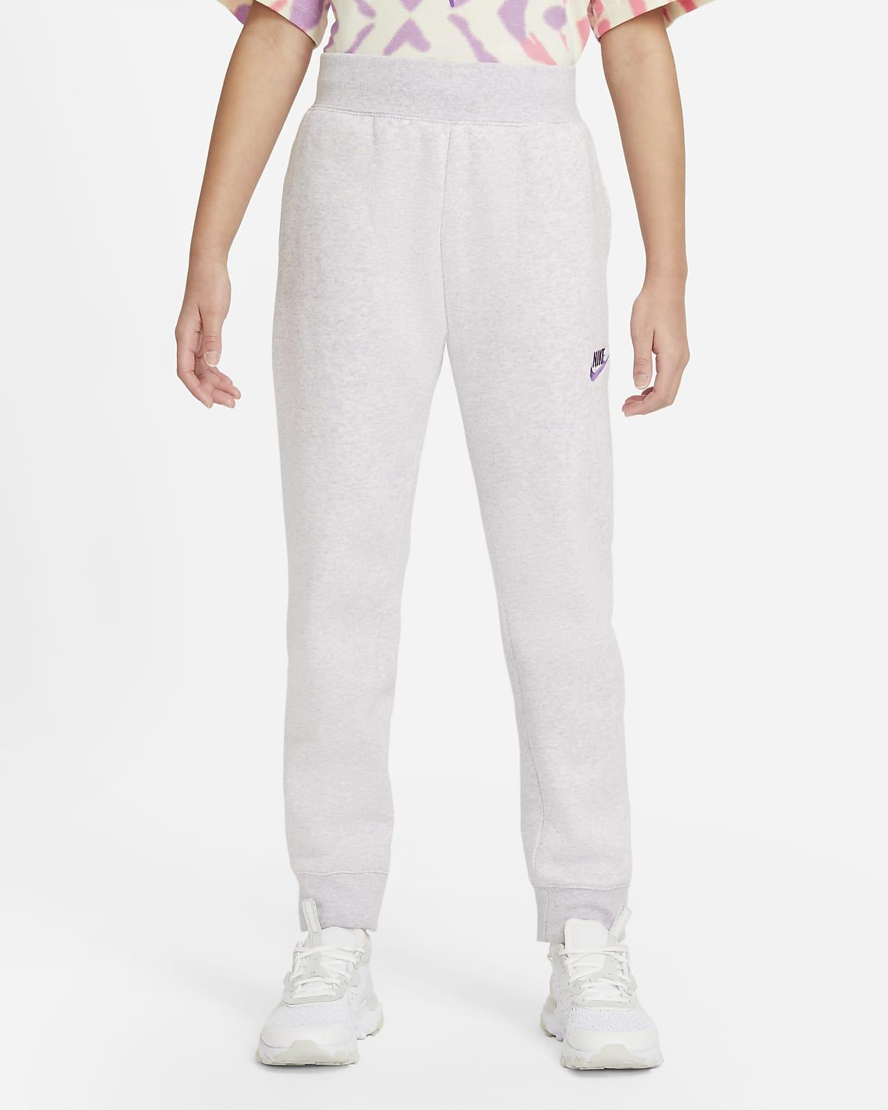 Pants para niña talla grande Nike Sportswear Club Fleece