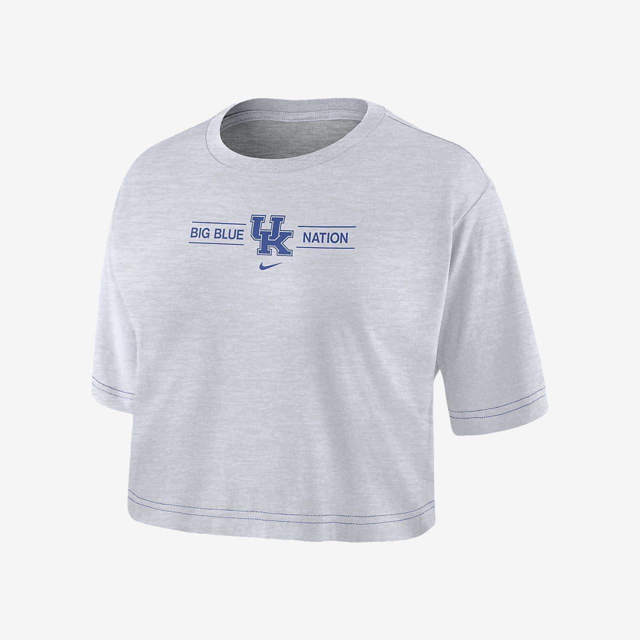 Nike College Dri-FIT (Kentucky) Women's Cropped T-Shirt