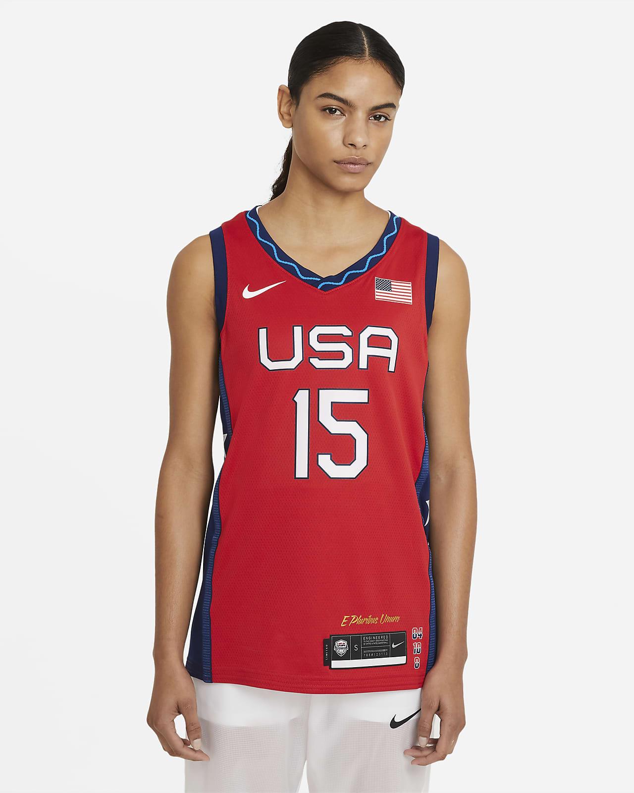 ナイキ チーム USA (ブリトニー・グリナー) (ロード) ウィメンズ バスケットボールジャージー