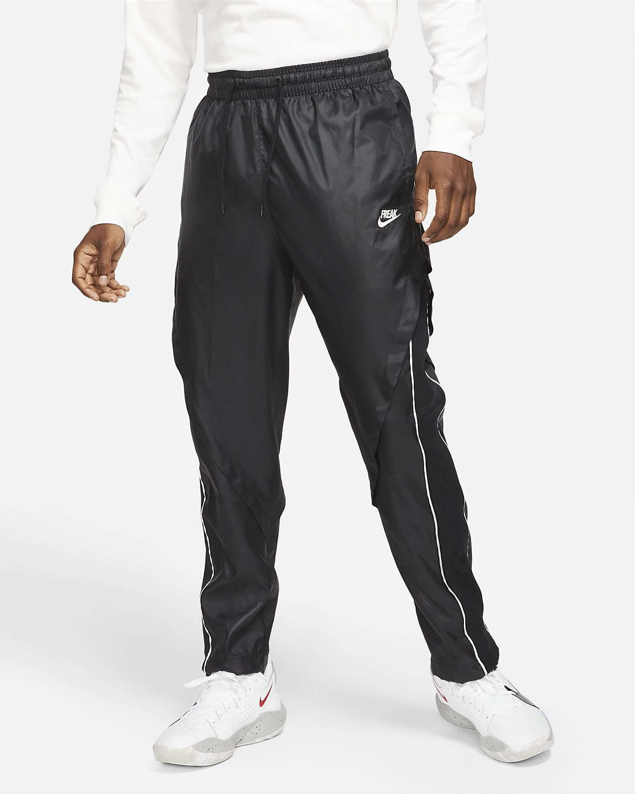Giannis Leichte Track-Pants Trainingshose für Herren