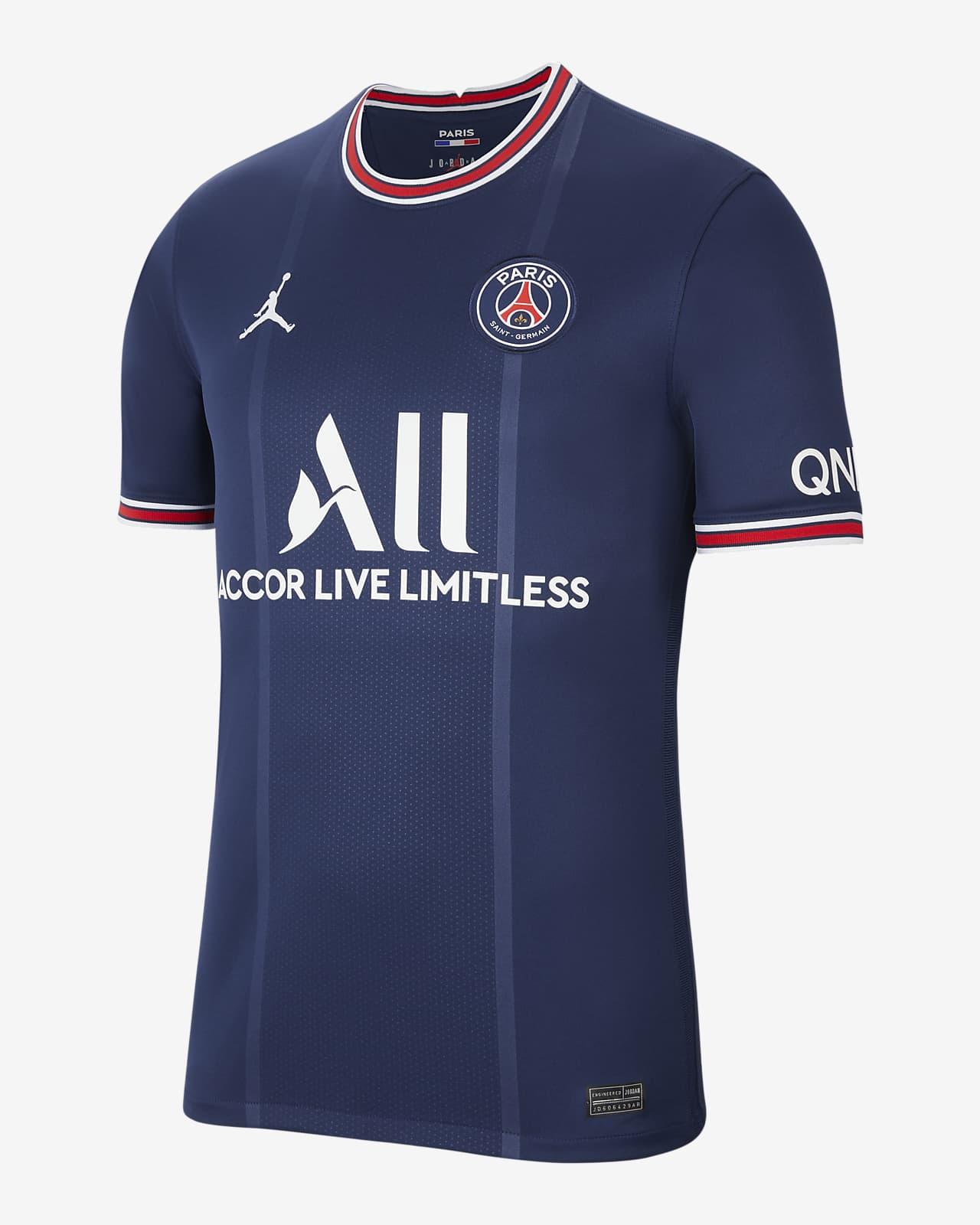 Mbappe Paris Saint-Germain 2021/22 Stadium Home Men's Football Shirt