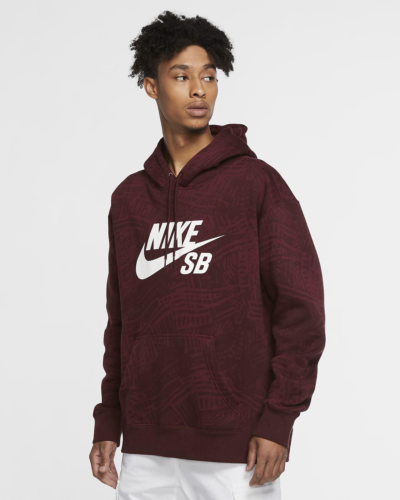 Nike SB Men's Printed Skate Hoodie. Nike SI