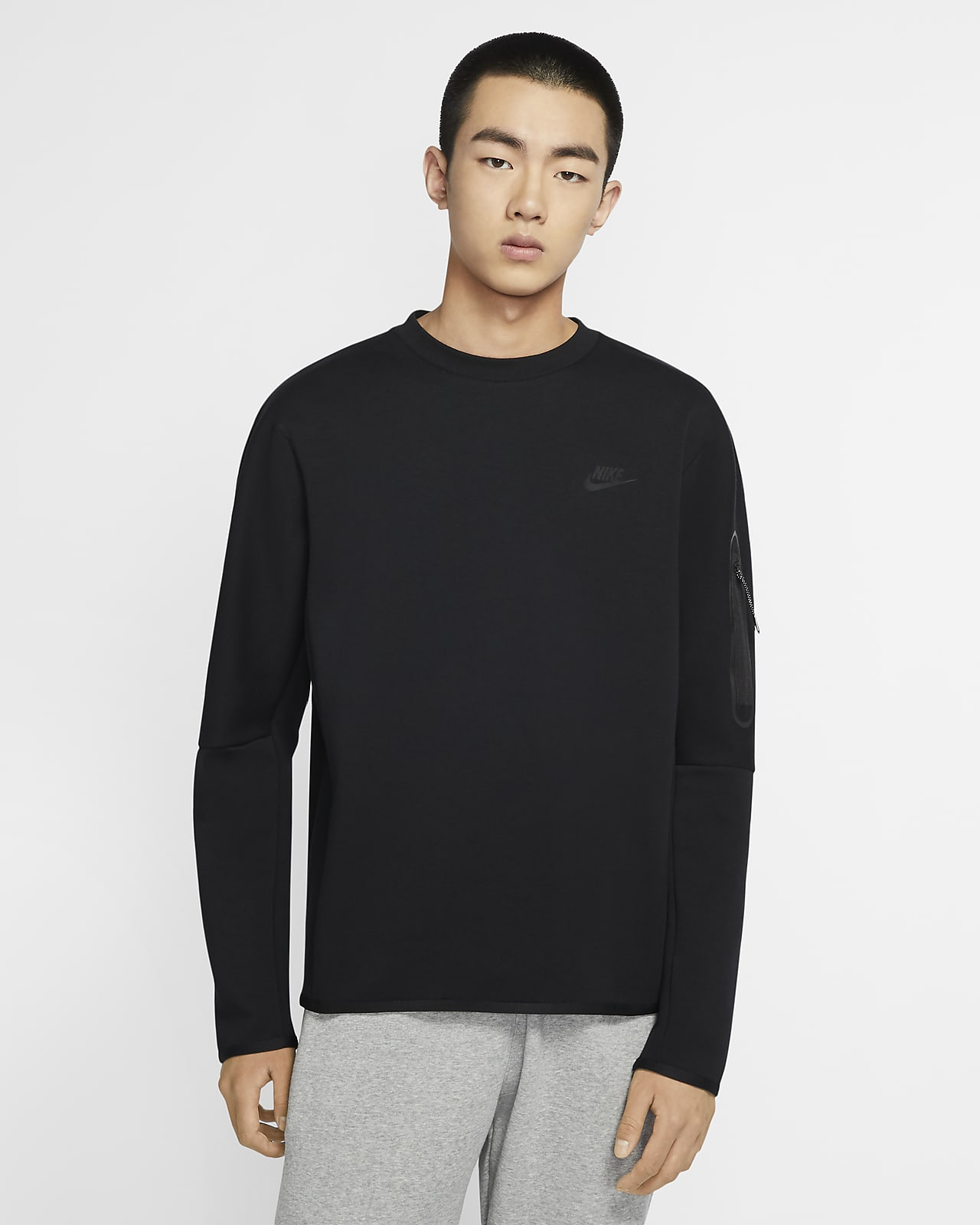 Nike Sportswear Tech Fleece 男款貼身圓領上衣