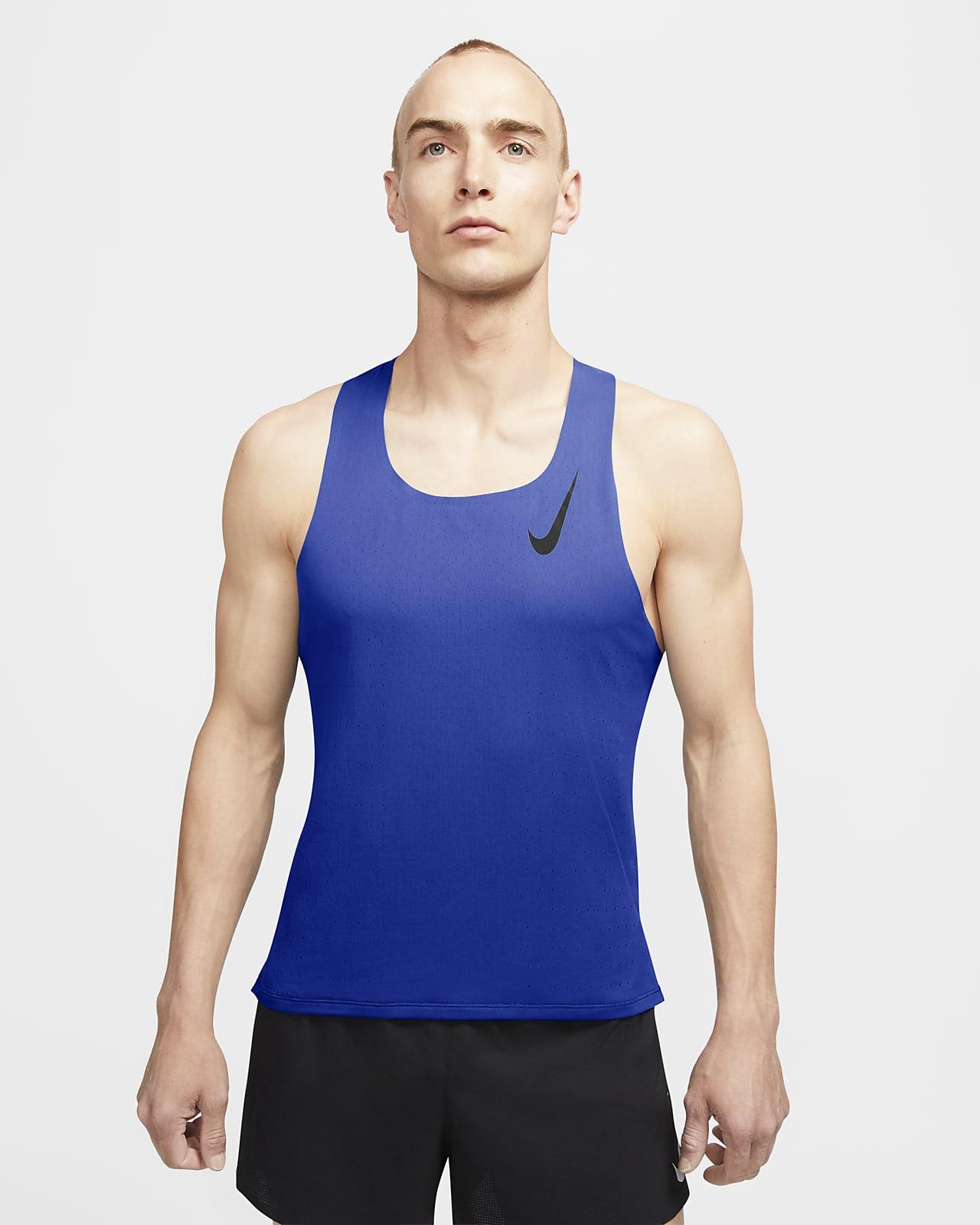 De nada Abuelo Relación  Camiseta sin mangas de running para hombre Nike AeroSwift. Nike.com