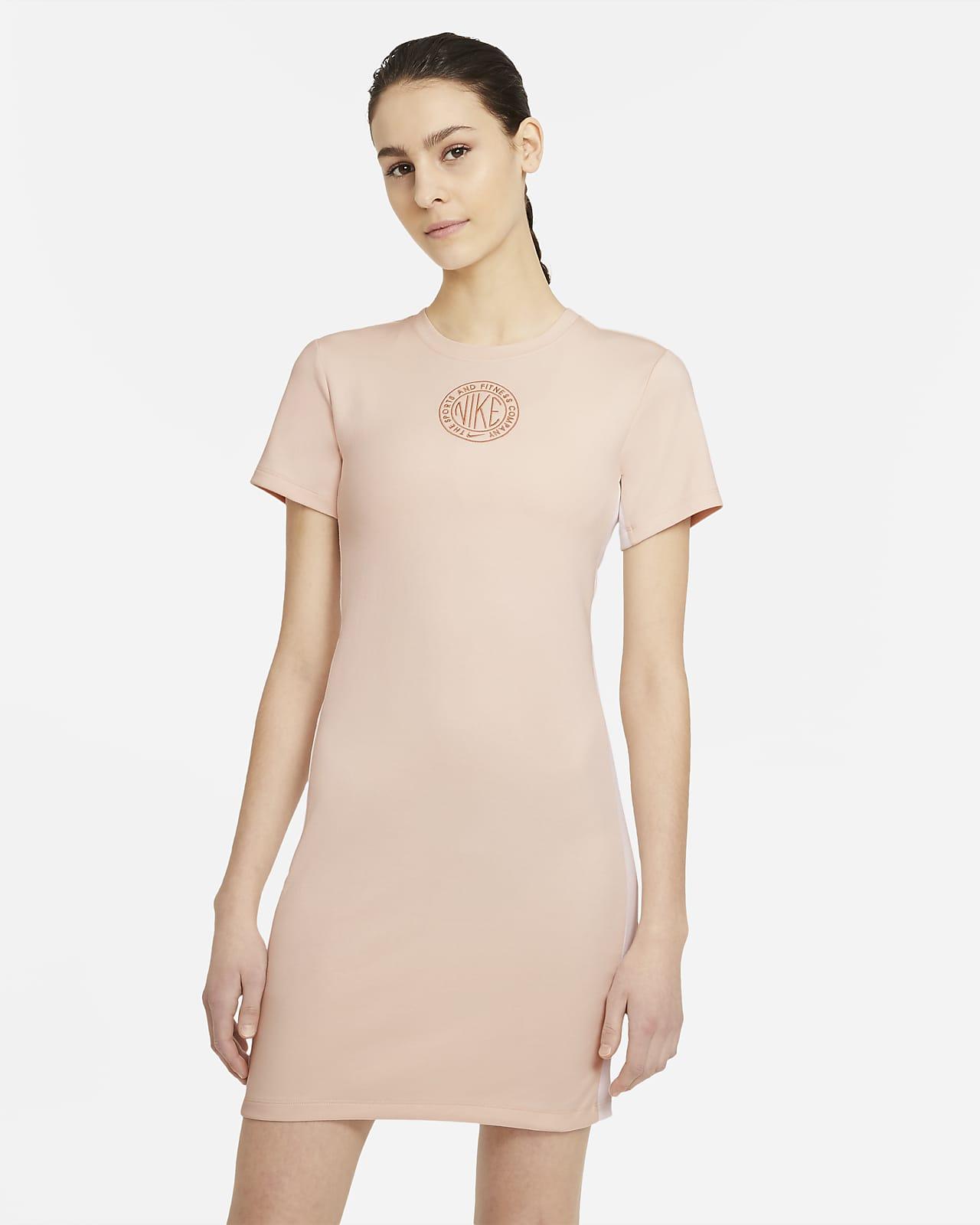 Kortärmad klänning Nike Sportswear Femme för kvinnor