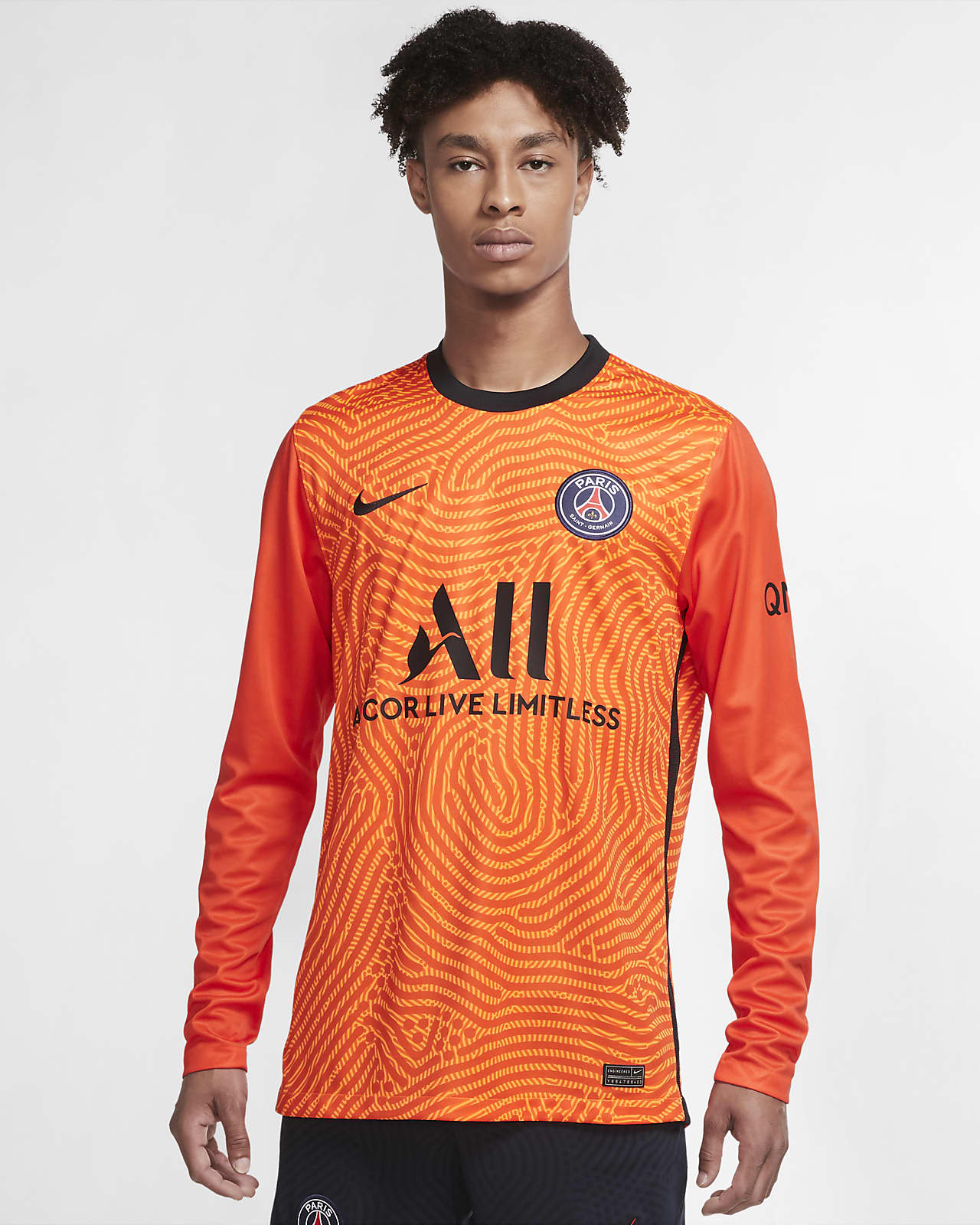 Pánský fotbalový dres Paris Saint-Germain Stadium 2020/21 Goalkeeper s dlouhým rukávem