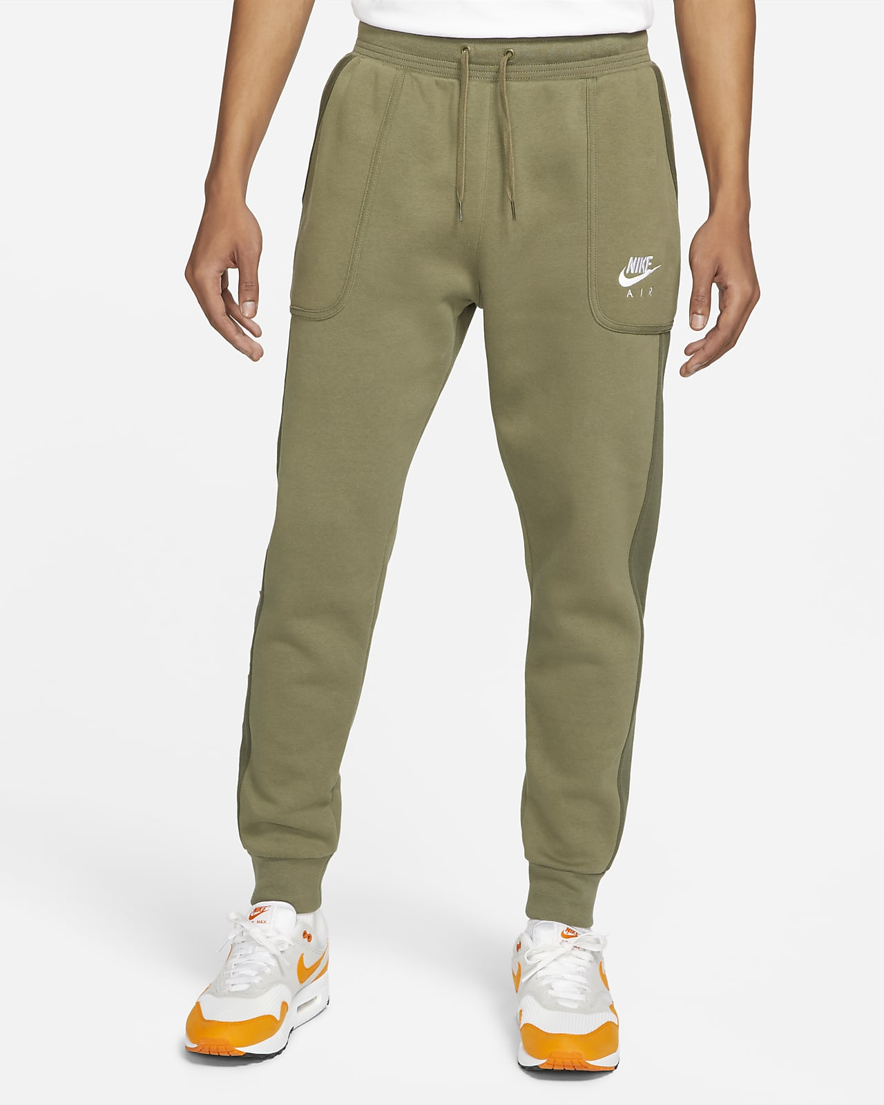 Pantalon de jogging en tissu Fleece Nike Air pour Homme