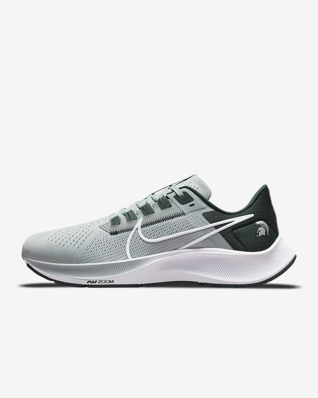 Nike College Air Zoom Pegasus 38 (Michigan State) Running Shoe