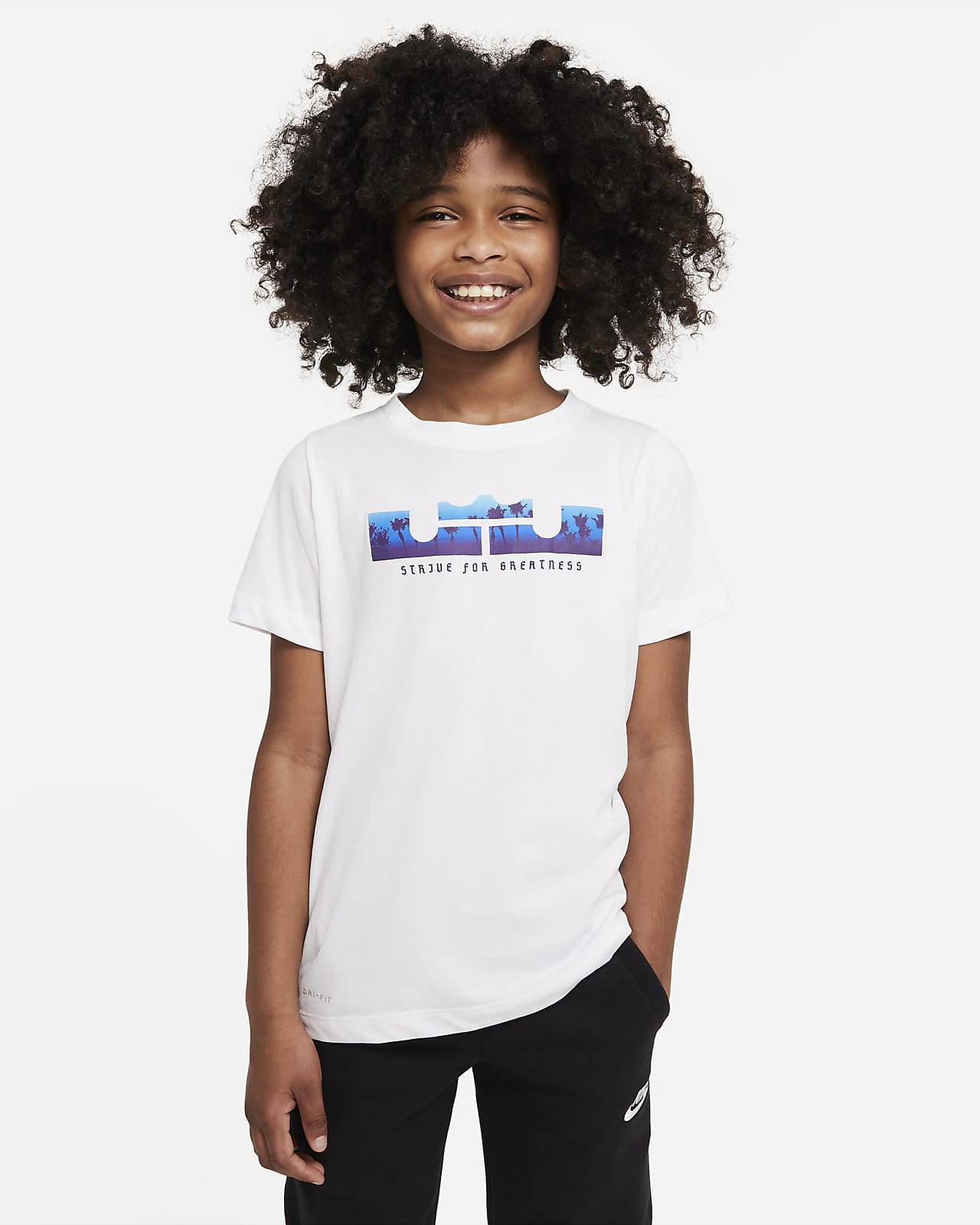 Nike Dri-FIT LeBron Big Kids' (Boys') Training T-Shirt