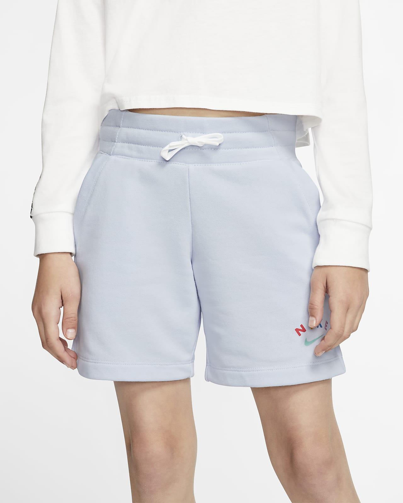 Nike Sportswear Older Kids' (Girls') Shorts. Nike VN