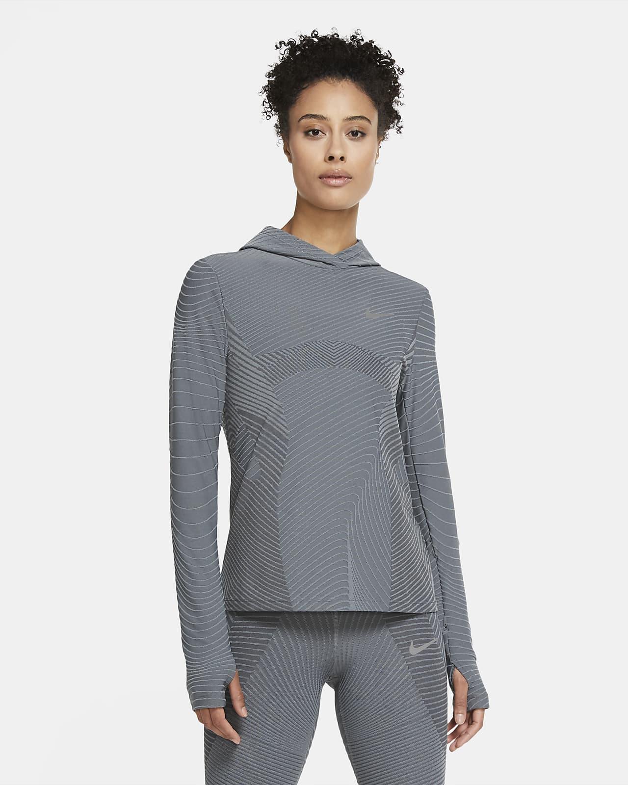 Sudadera con capucha de running para mujer Nike