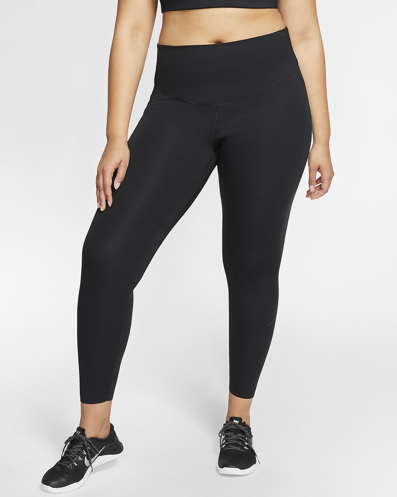 Nike One Luxe Women's Mid-Rise Leggings (Plus Size)