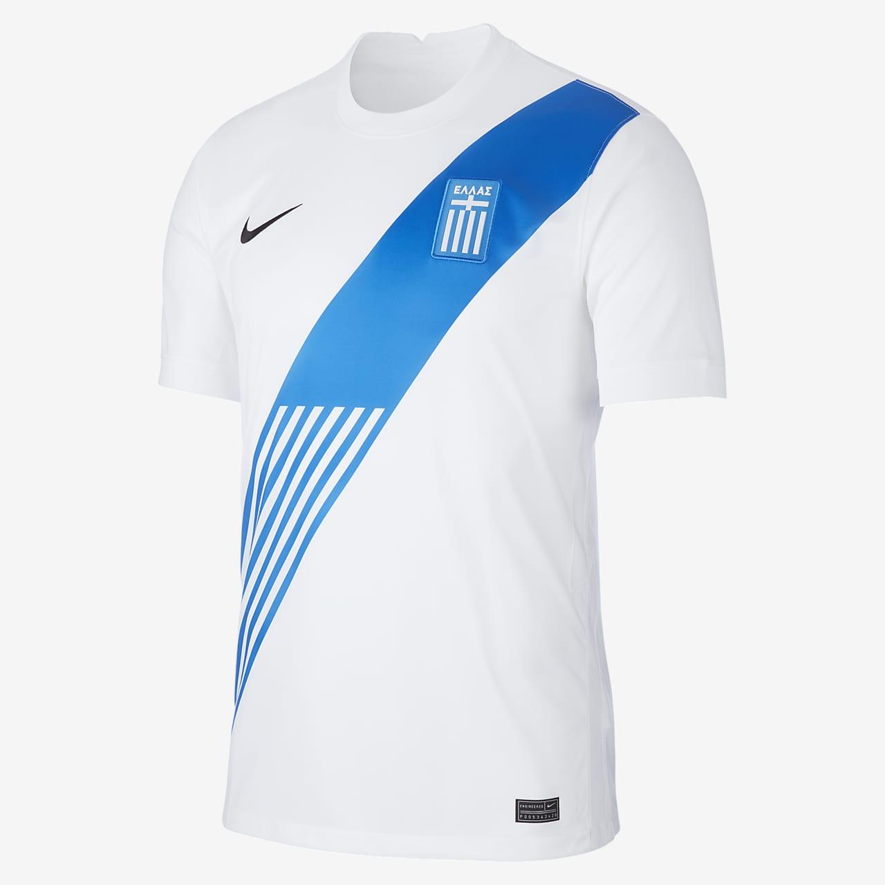 Camiseta de fútbol para hombre Greece 2020 Stadium Home