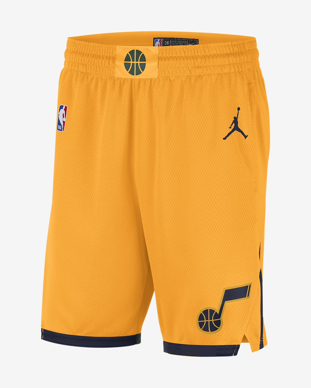 Jazz Statement Edition 2020 Men's Jordan NBA Swingman Shorts