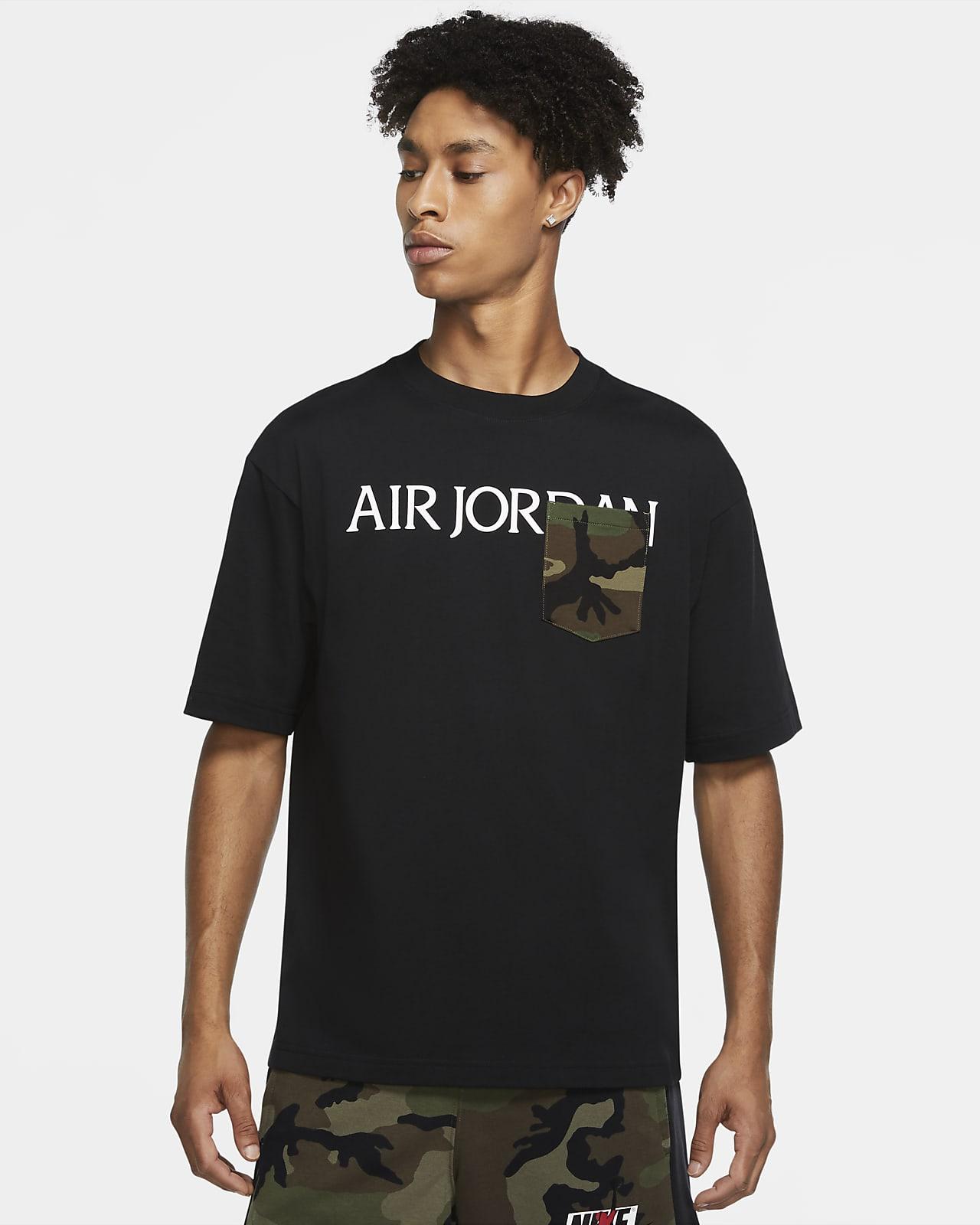 Jordan Camo Mash-Up Men's Pocket T-Shirt