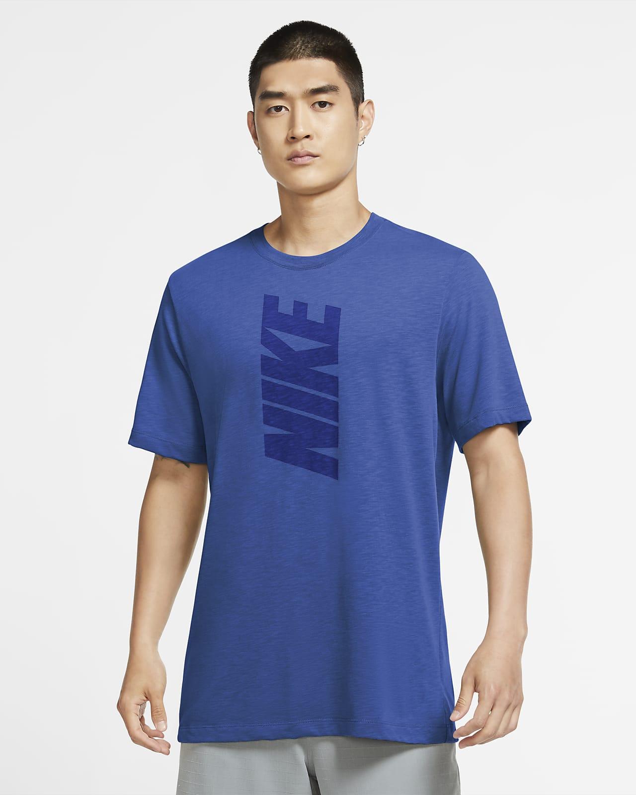 Playera de entrenamiento con logotipo sólido para hombre Nike Dri-FIT