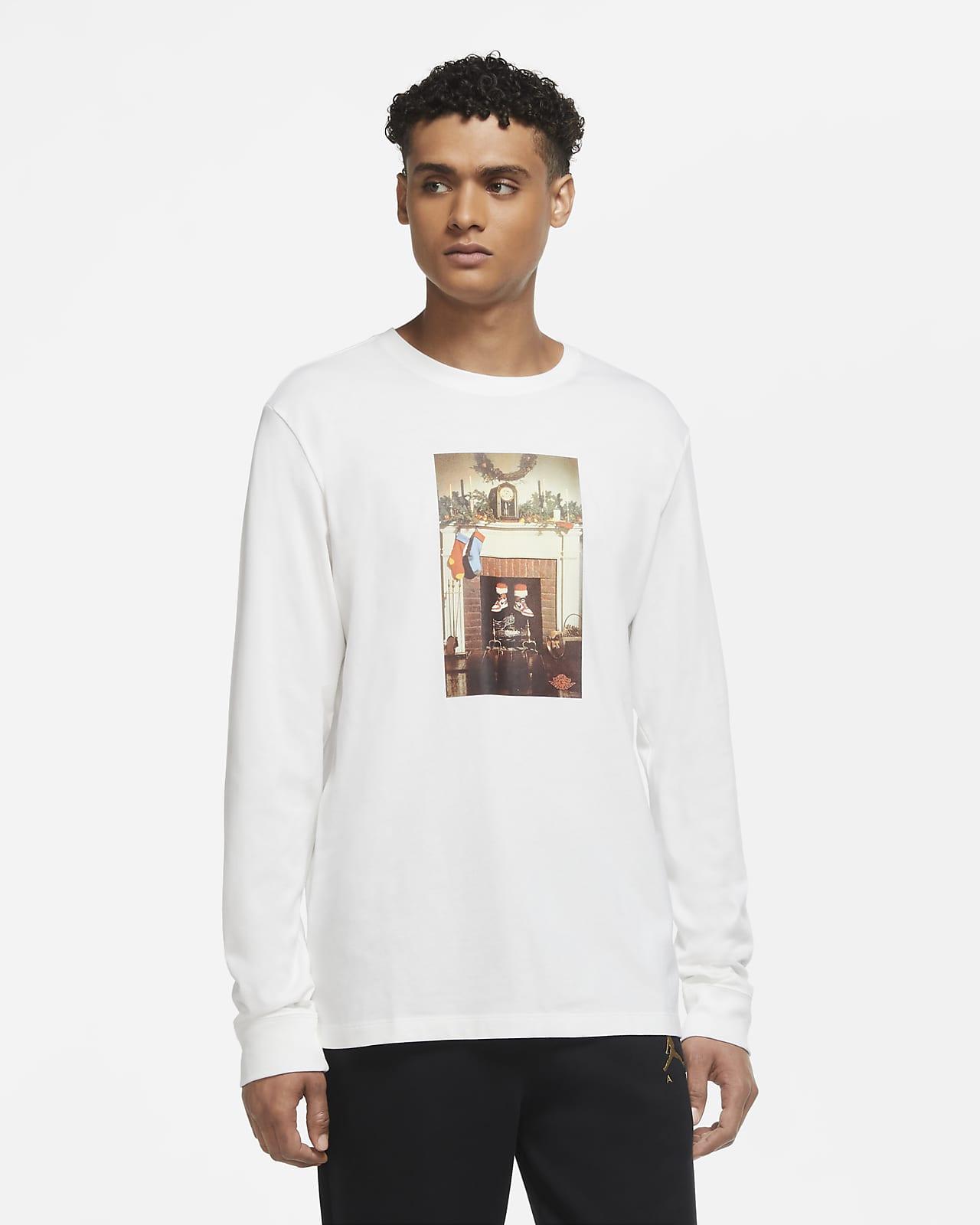 Jordan Jumpman Chimney Langarm-T-Shirt für Herren