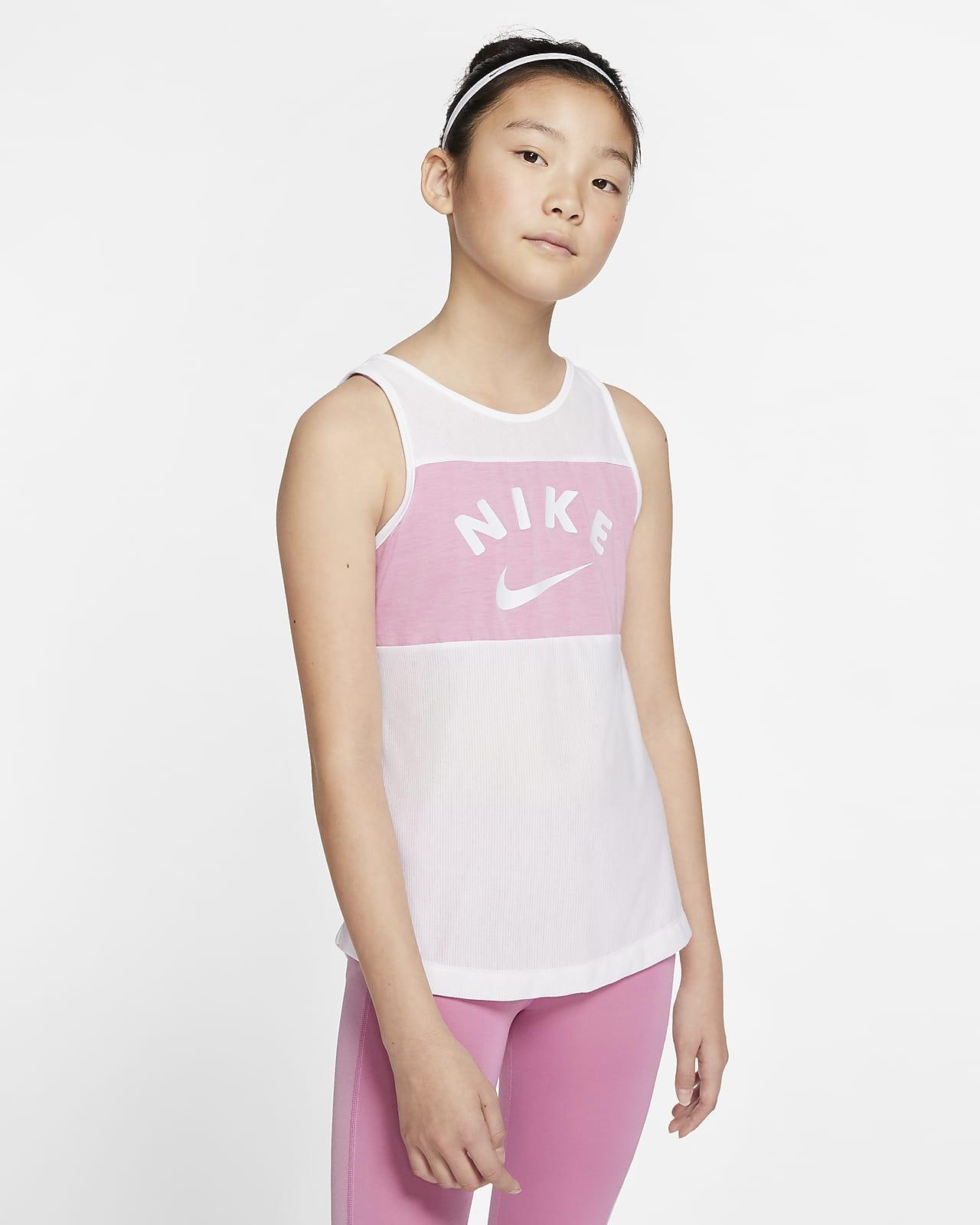 Träningslinne Nike för tjejer