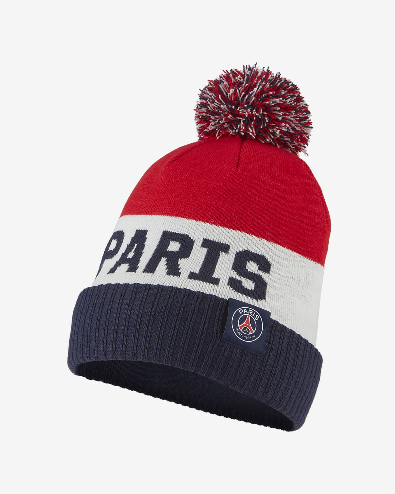 Paris Saint-Germain Beanie mit Bommel