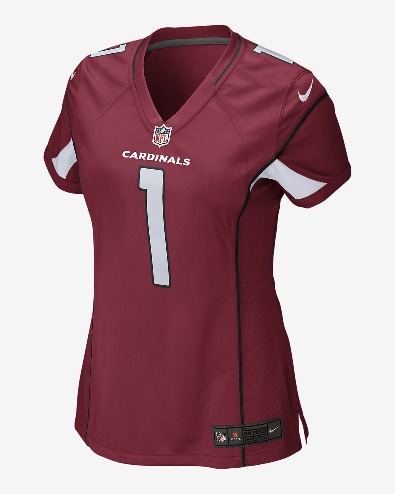 NFL Arizona Cardinals (Kyler Murray) Women's Game Football Jersey