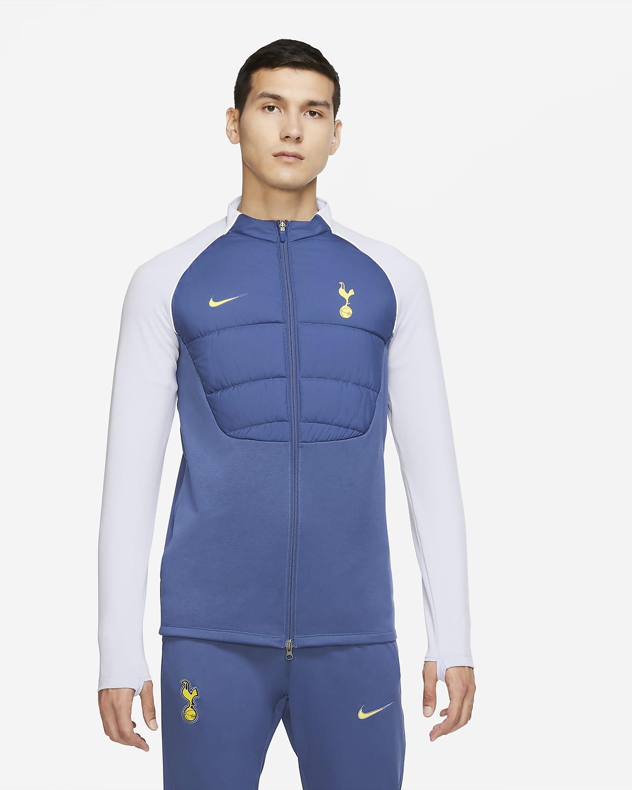 Tottenham Hotspur Strike Winter Warrior Men's Synthetic-Fill Football Drill Jacket