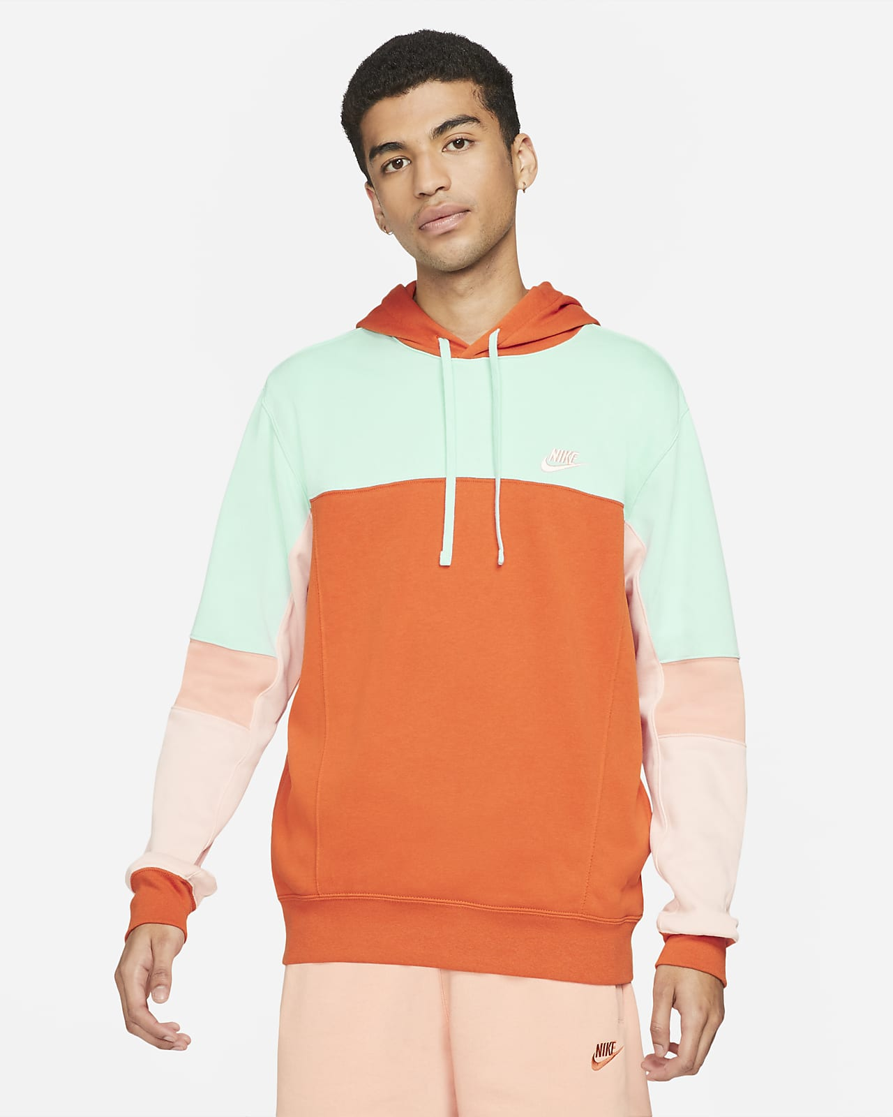 Nike Sportswear Men S Pullover French Terry Hoodie Nike At [ 1600 x 1280 Pixel ]