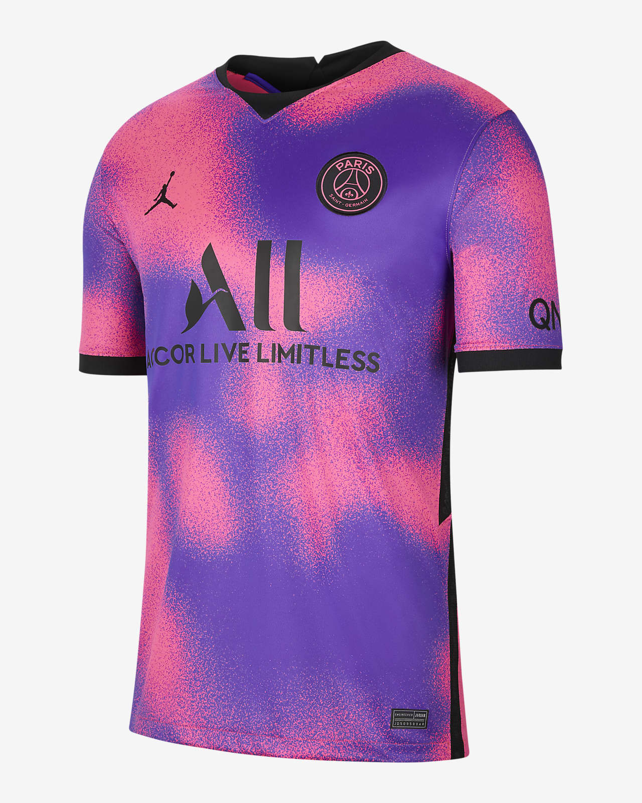 Paris Saint-Germain 2020/21 Stadium Fourth Men's Football Shirt