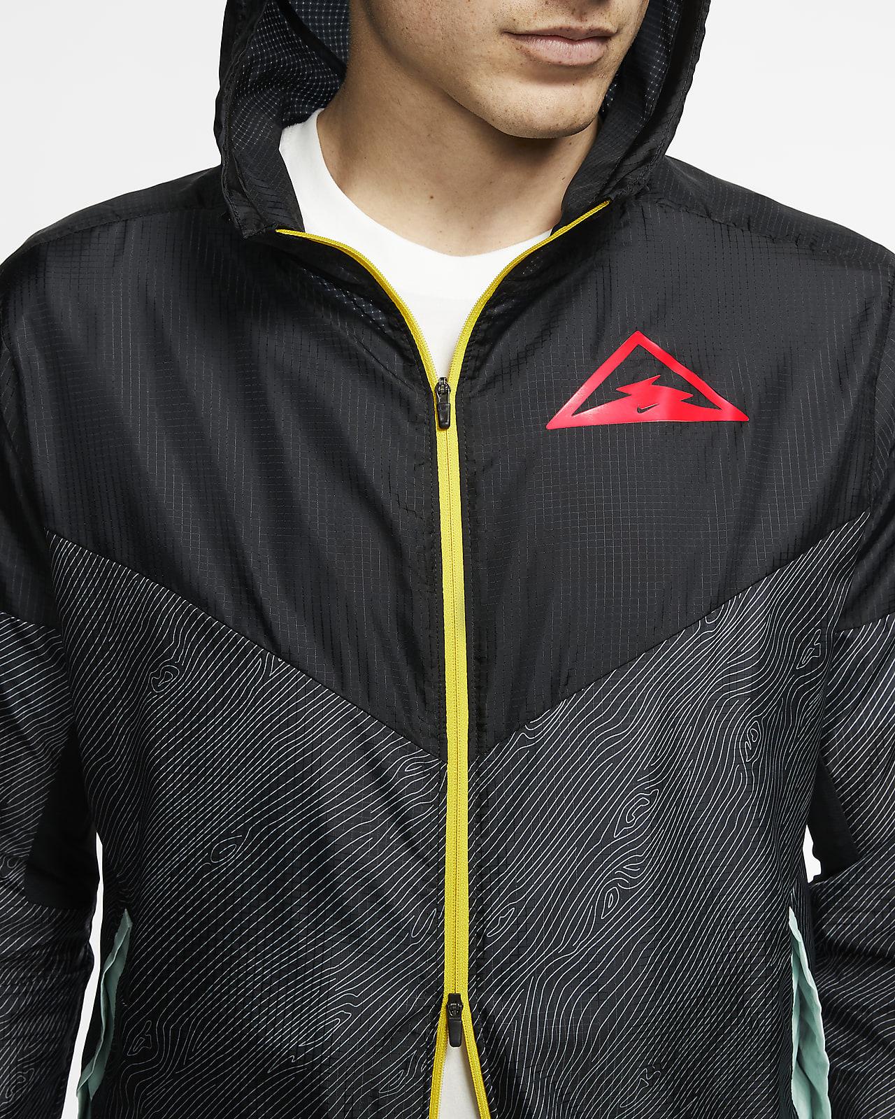 aleación poetas Mm  Nike Windrunner Men's Hooded Trail Running Jacket. Nike.com