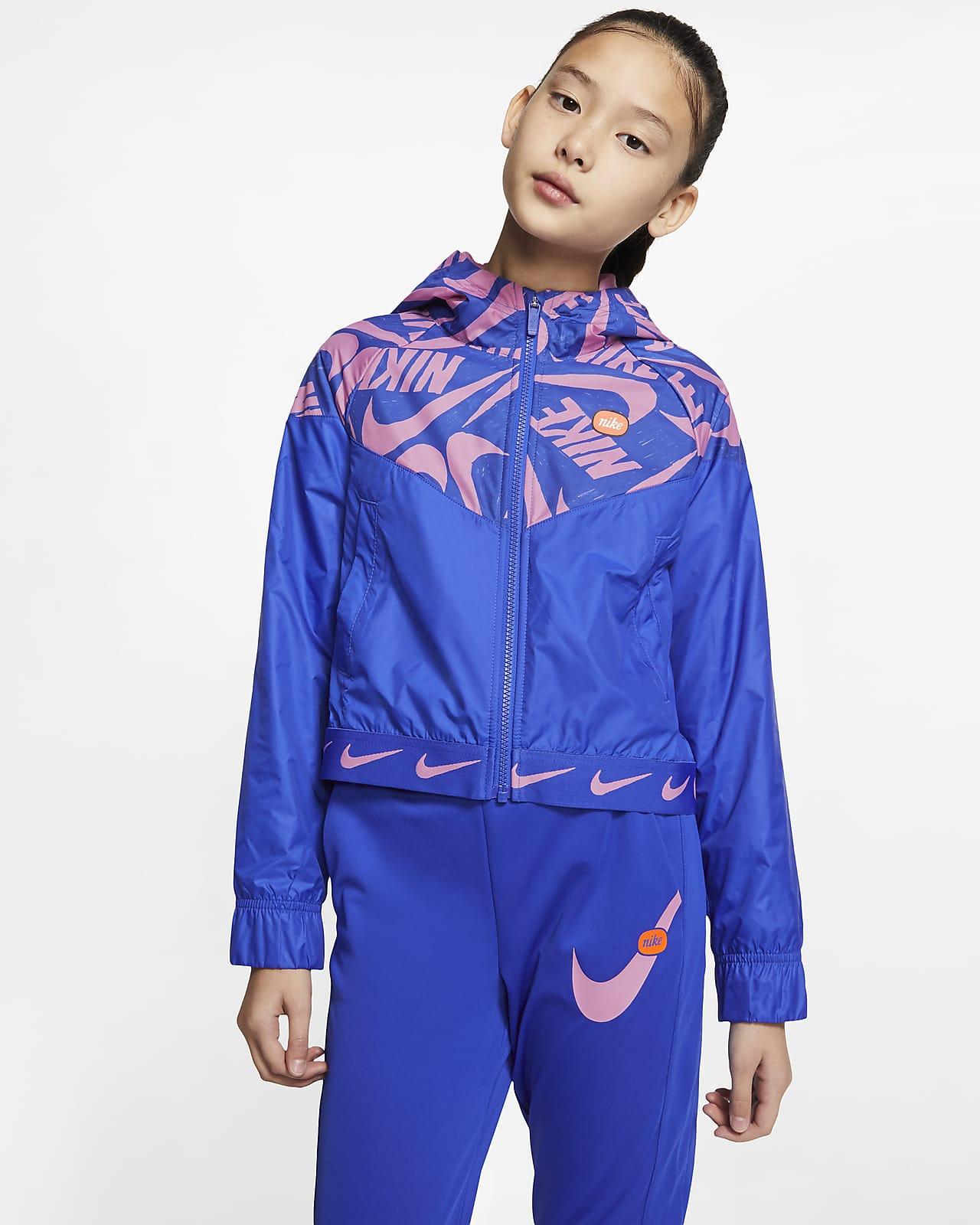 Nike Sportswear Windrunner 大童(女孩)夹克