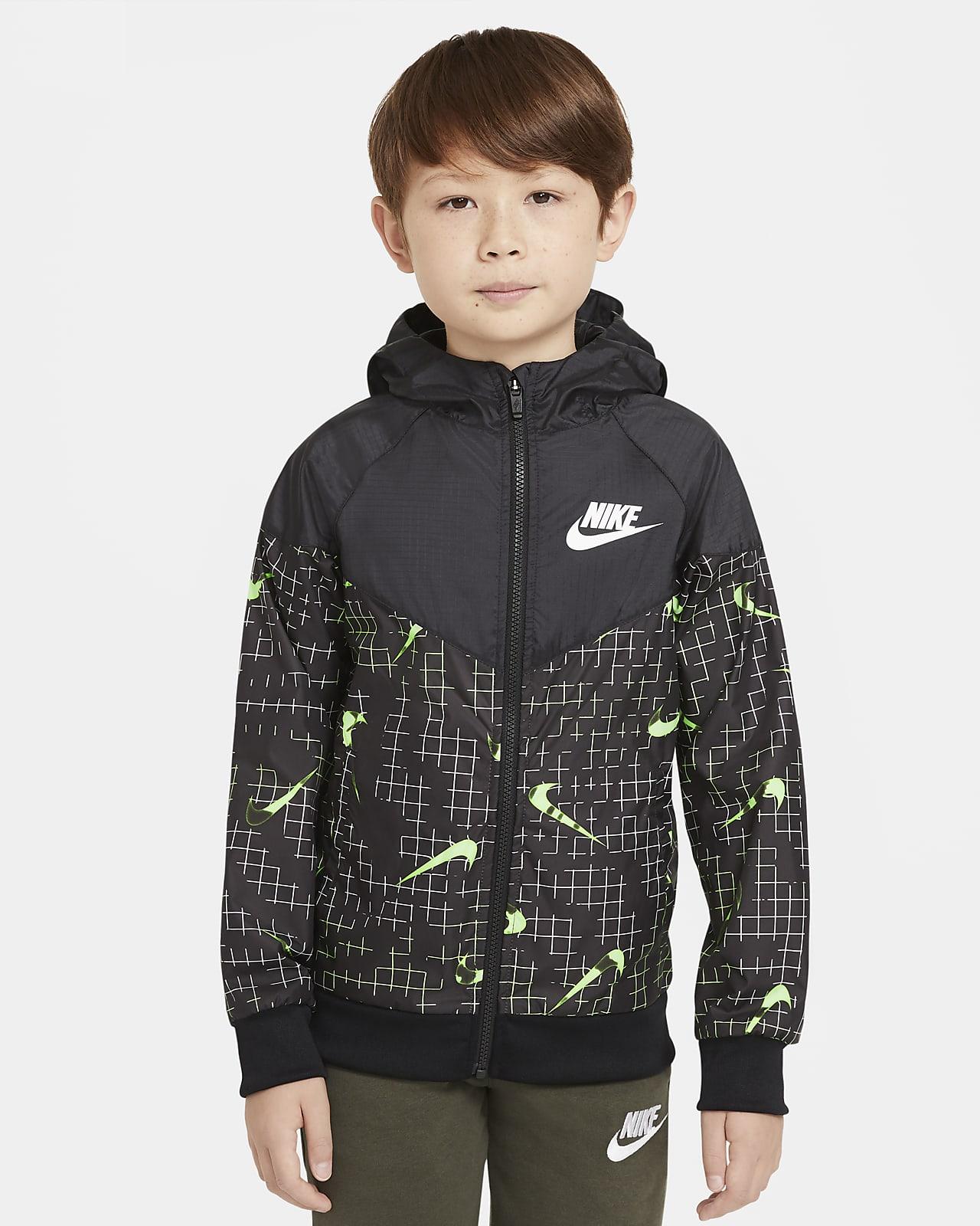 Куртка для мальчиков школьного возраста Nike Sportswear Windrunner