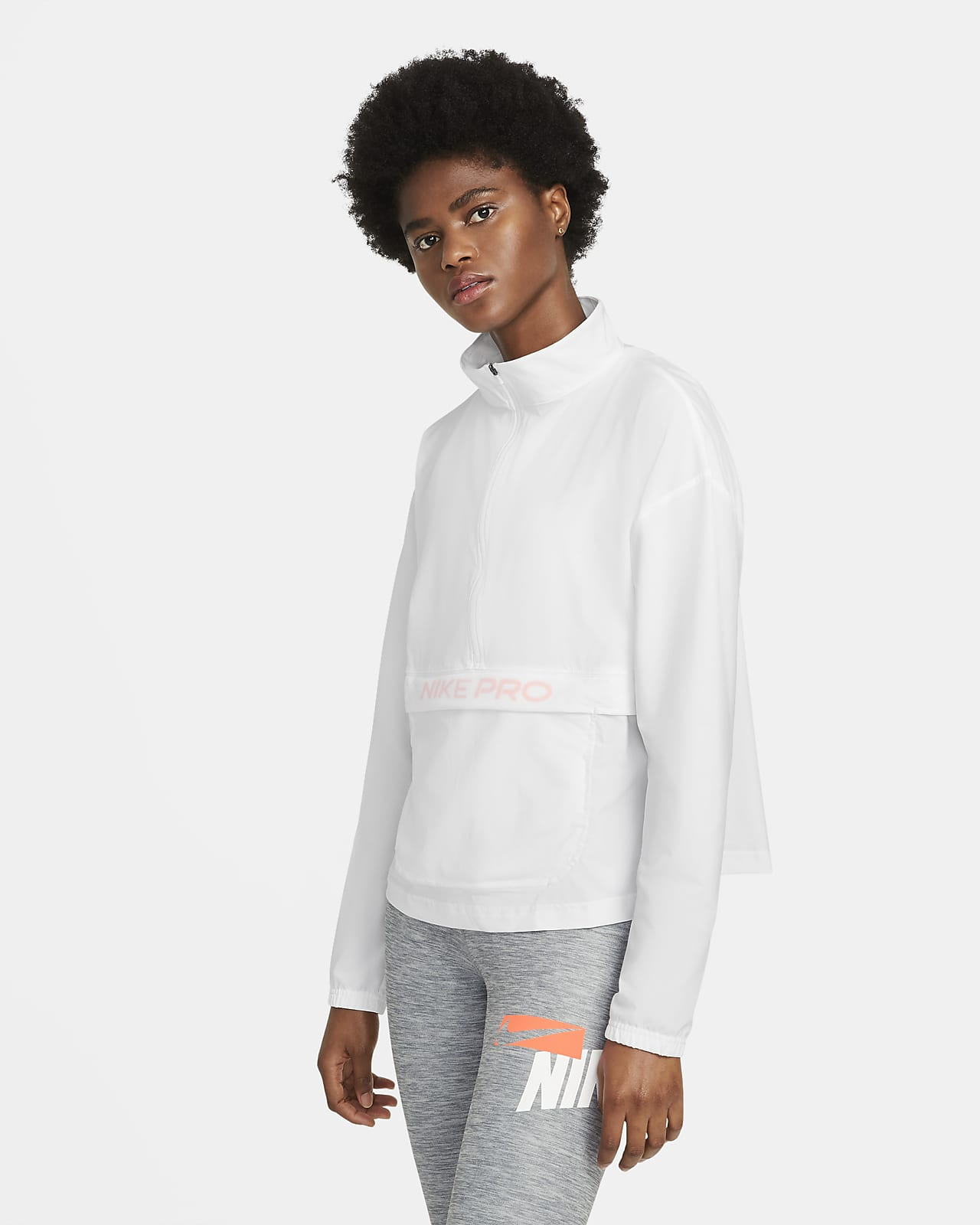 Cover-up packable in tessuto Nike Pro - Donna