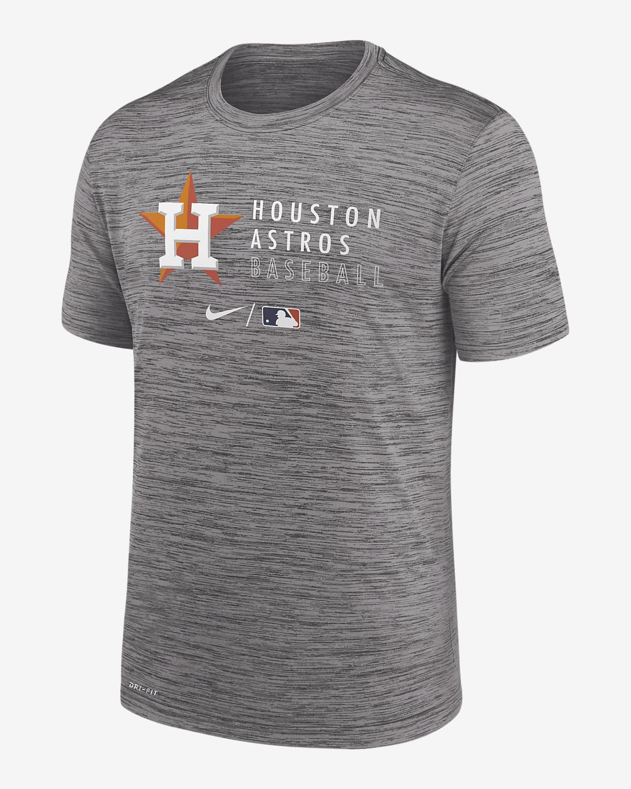 Playera para hombre Nike Dri-FIT Velocity Practice (MLB Houston Astros)