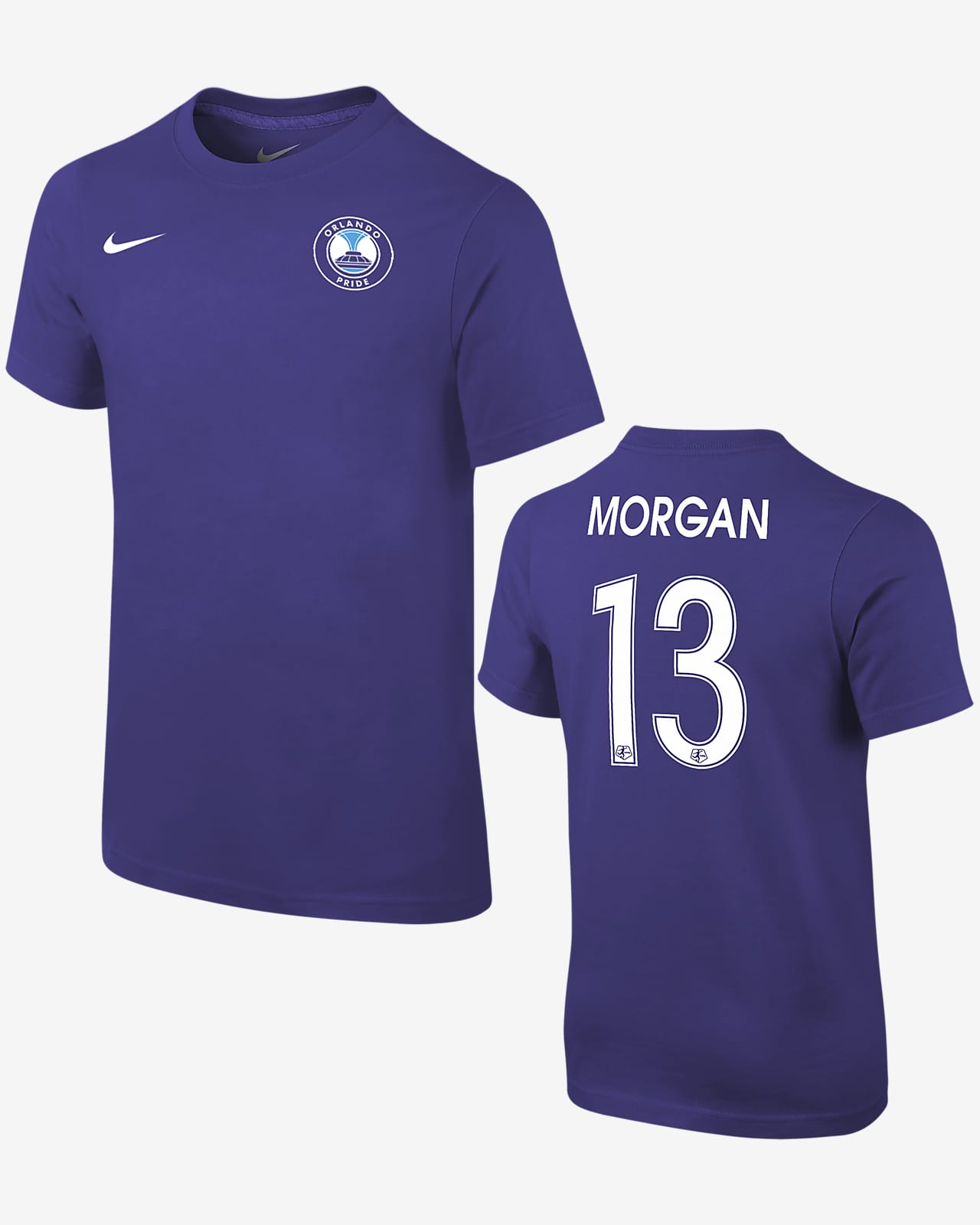 Orlando Pride Alex Morgan Kids' Soccer T-Shirt