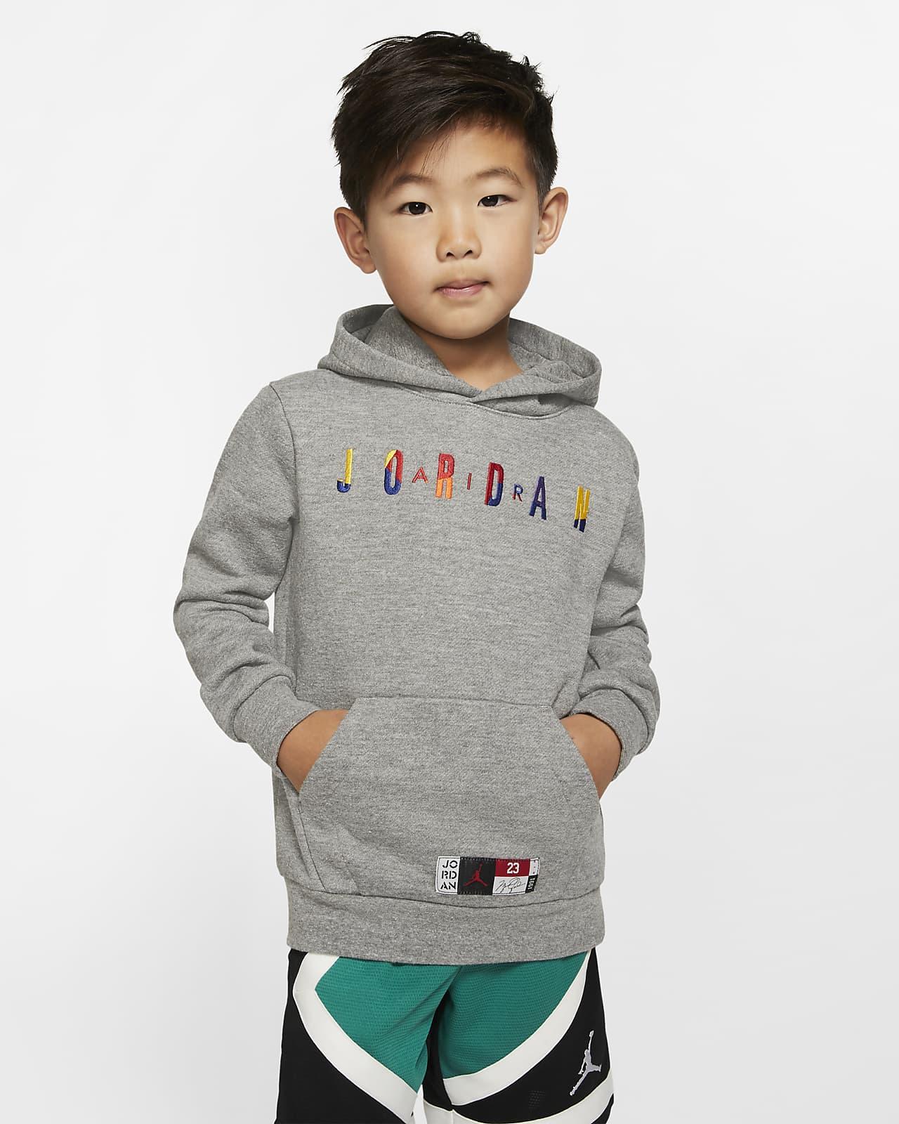 Air Jordan Little Kids' Fleece Pullover Hoodie