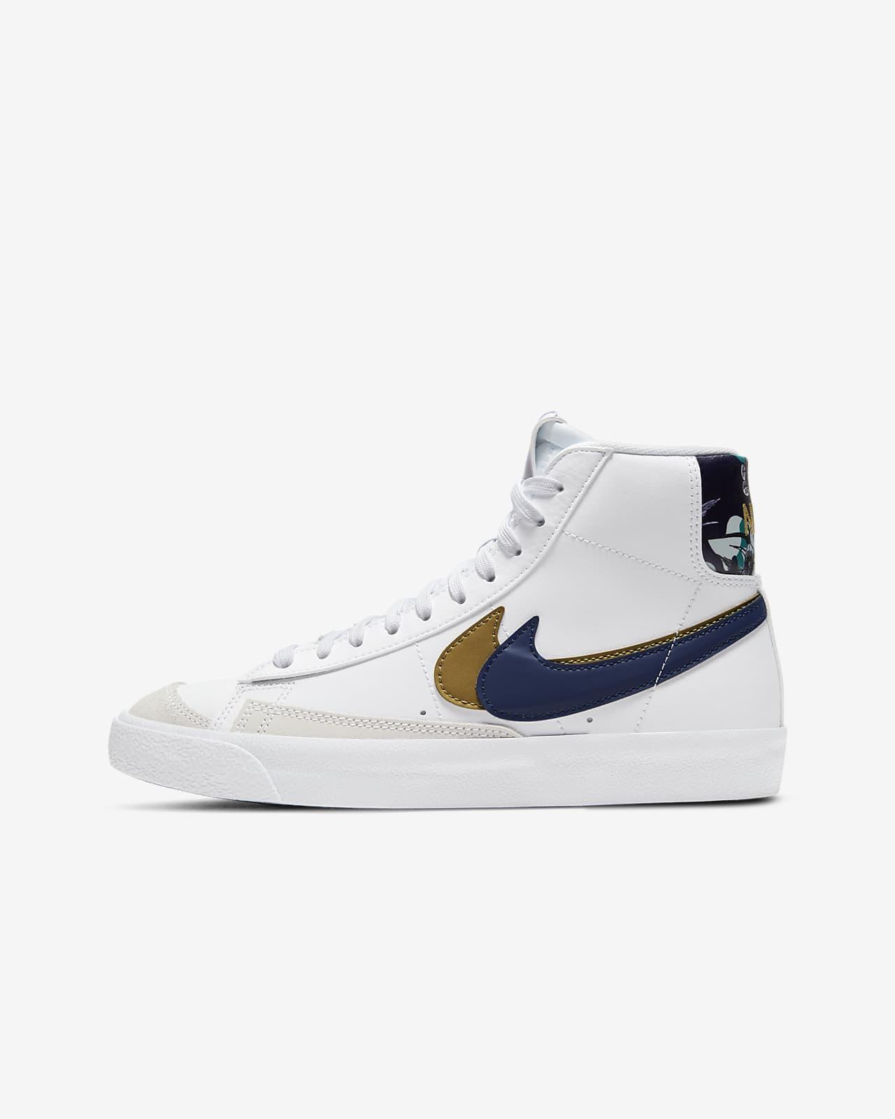 Calzado para niños talla grande Nike Blazer Mid '77 SE
