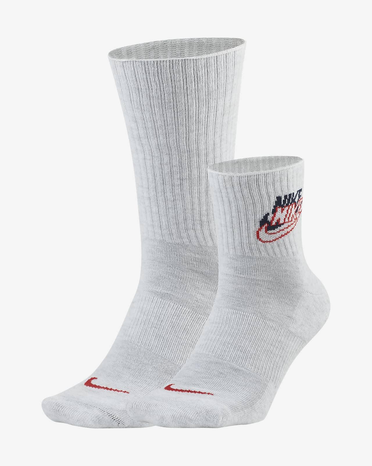 Nike Heritage Socks (2 Pairs)
