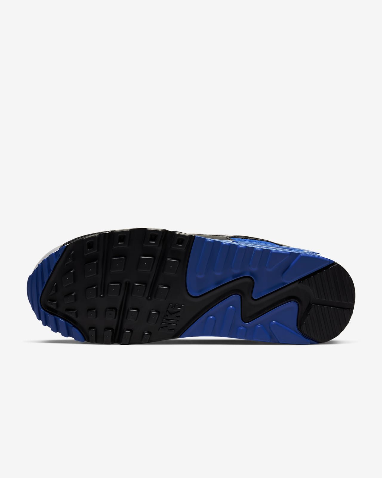 air max 90 bianco blu