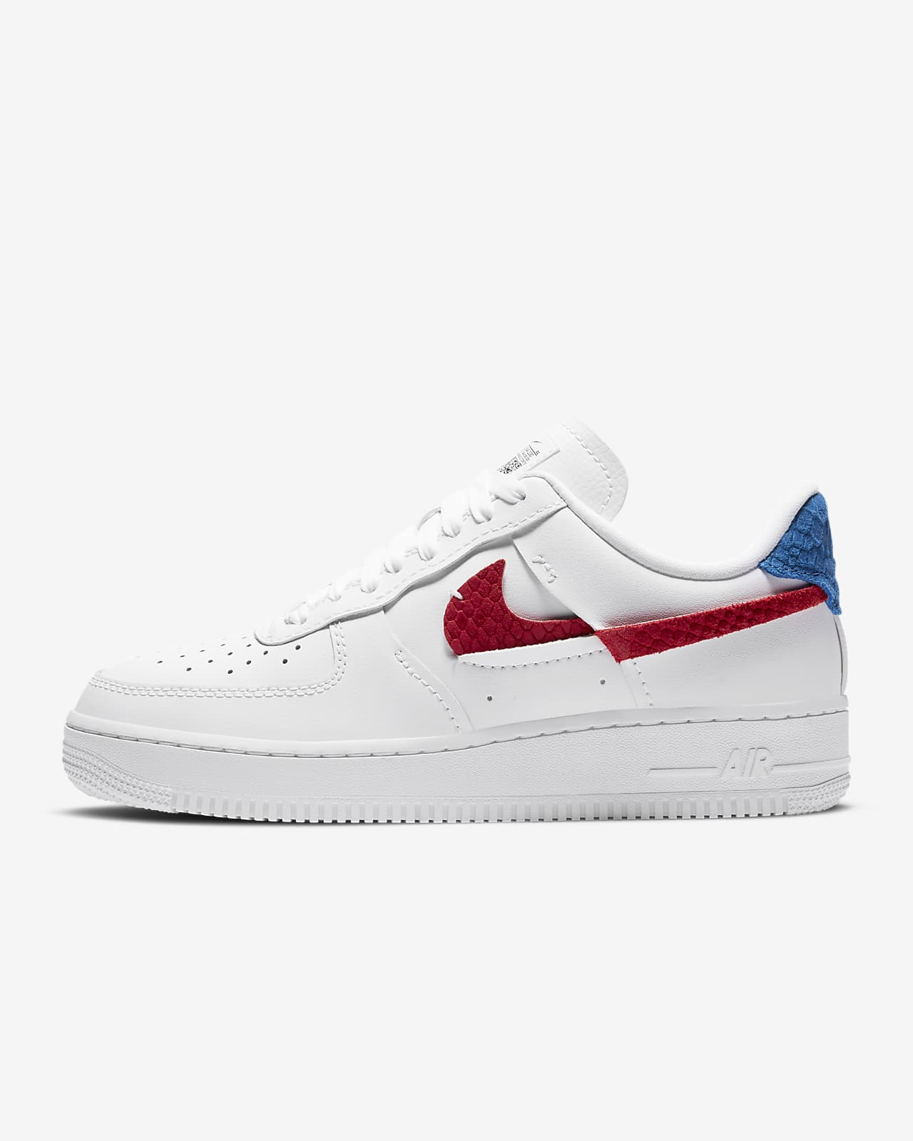 nike air force 1 07 donna bianche e rosa