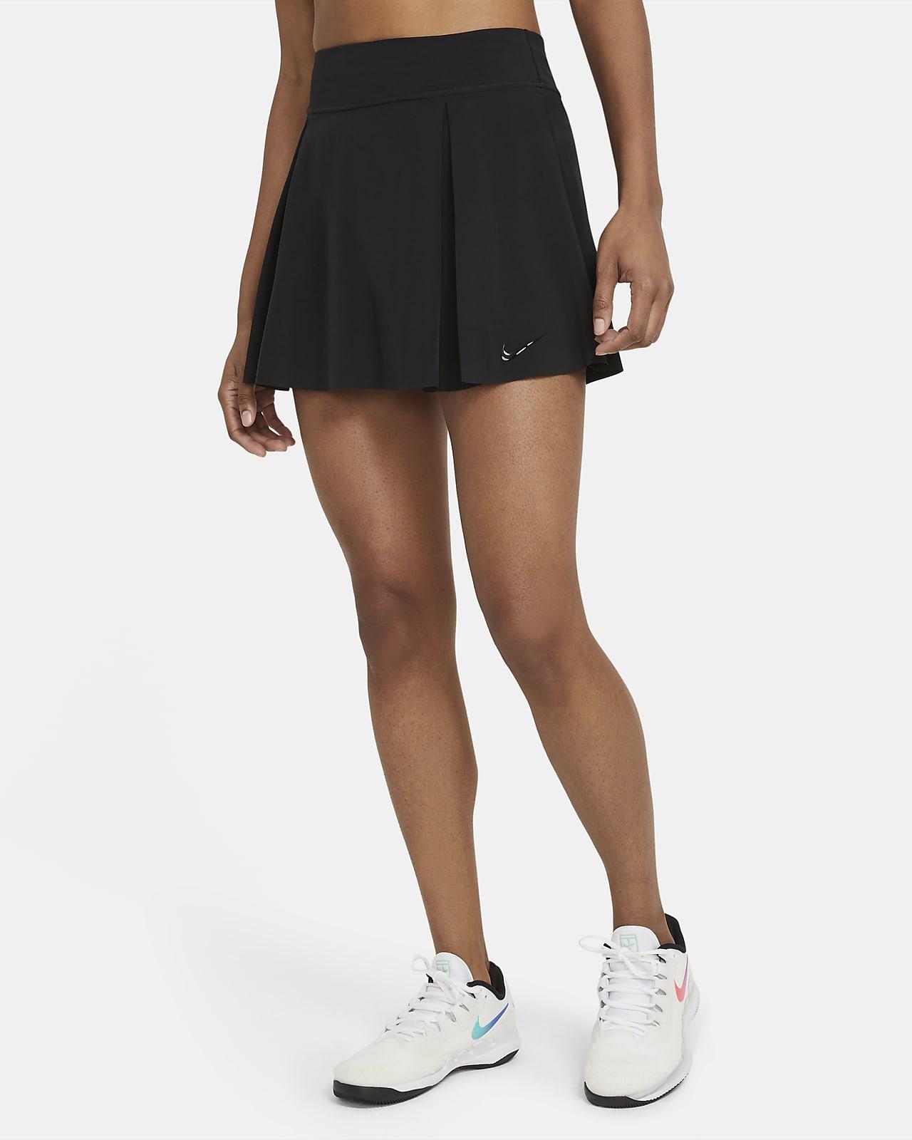 Saia de ténis normal Nike Club Skirt para mulher (alta)