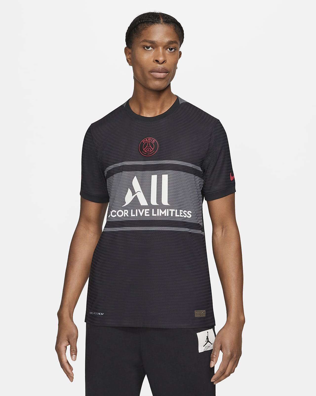 Męska koszulka piłkarska Nike Dri-FIT ADV Paris Saint-Germain 2021/22 Match (wersja trzecia)