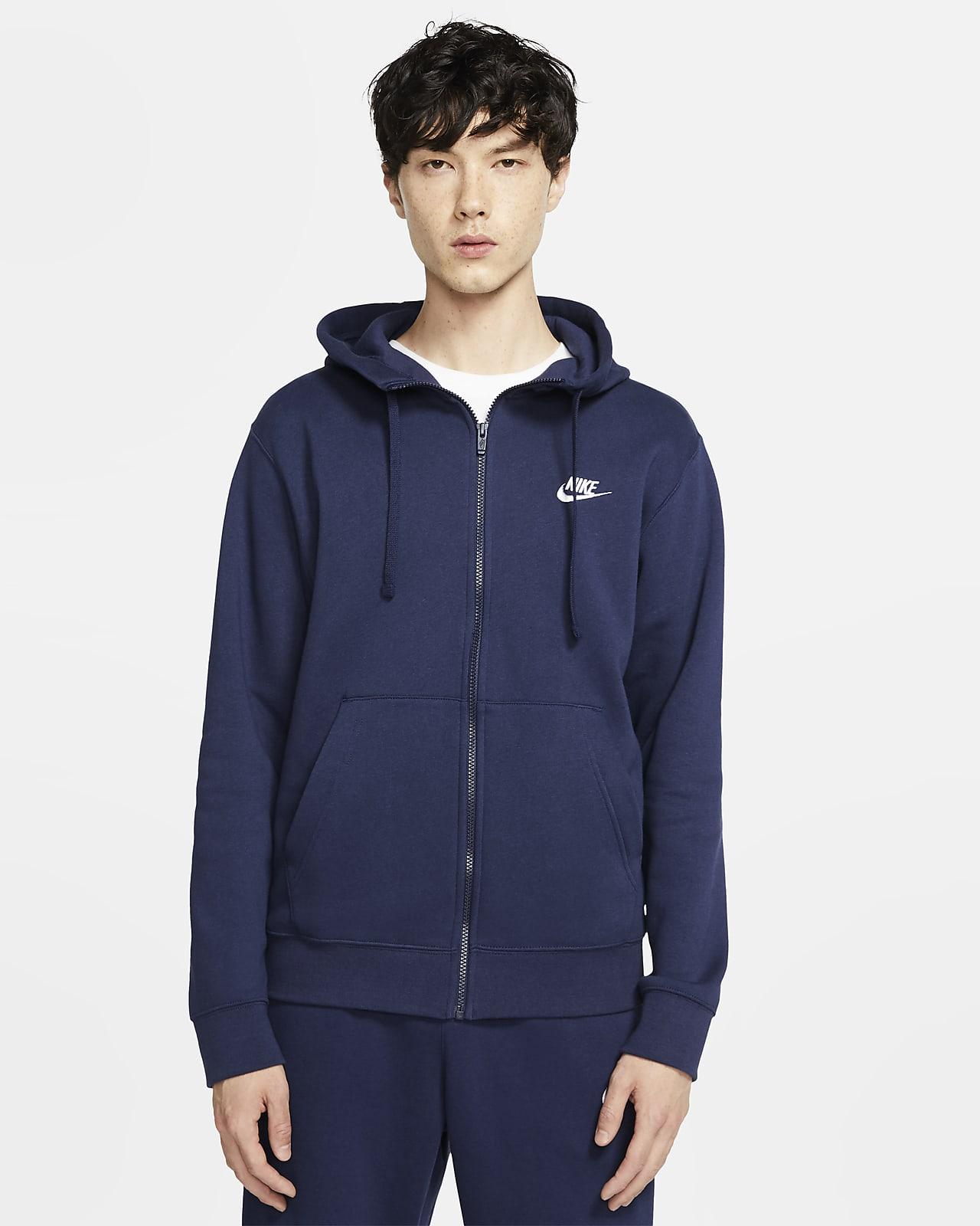 Nike Sportswear Club Fleece hettejakke til herre
