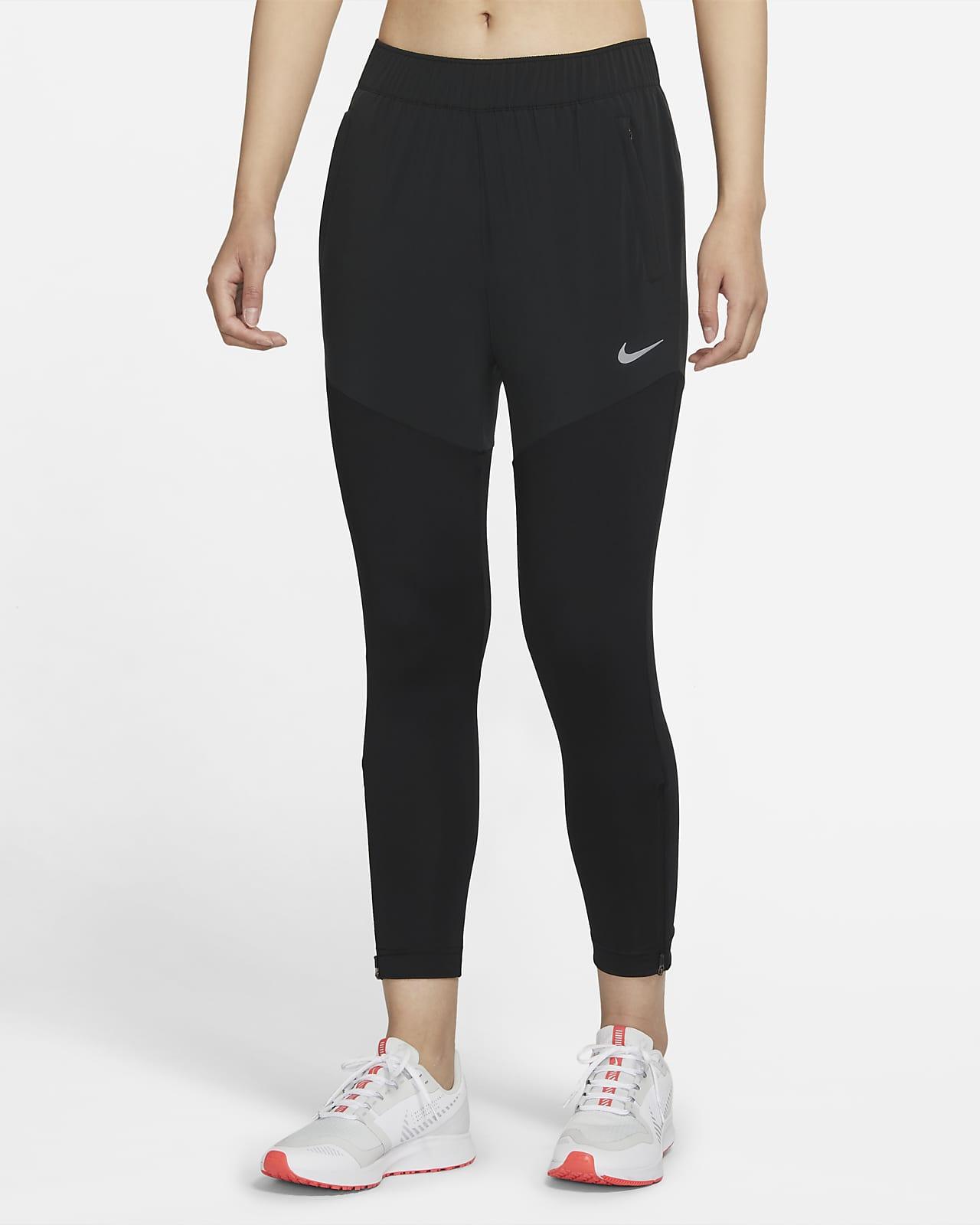 กางเกงวิ่งขายาวผู้หญิง Nike Dri-FIT Essential