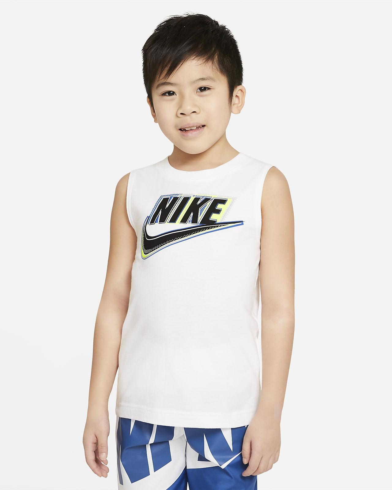 Camiseta de tirantes para niños talla pequeña Nike